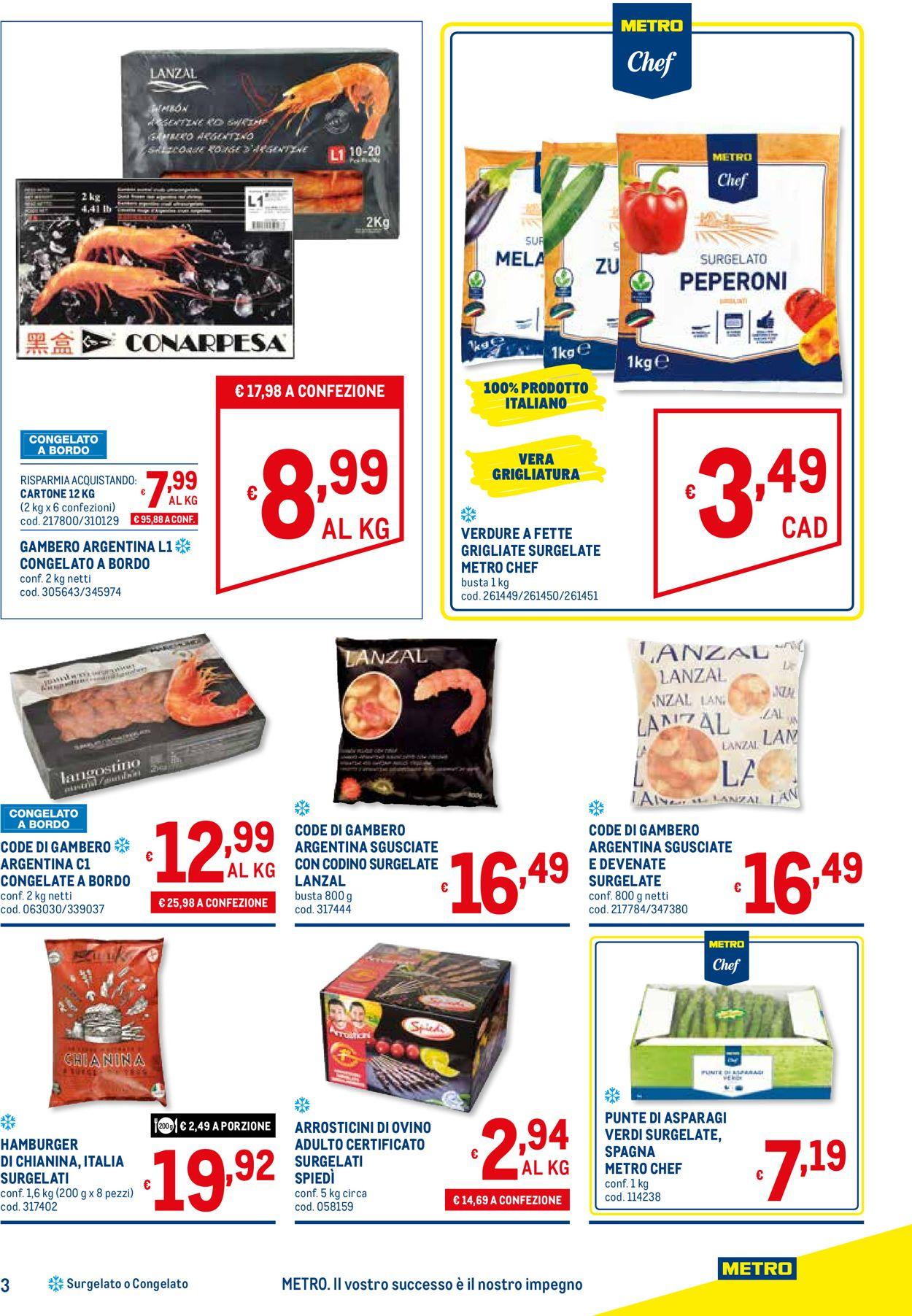 Volantino Metro - Offerte 26/03-22/04/2020 (Pagina 3)