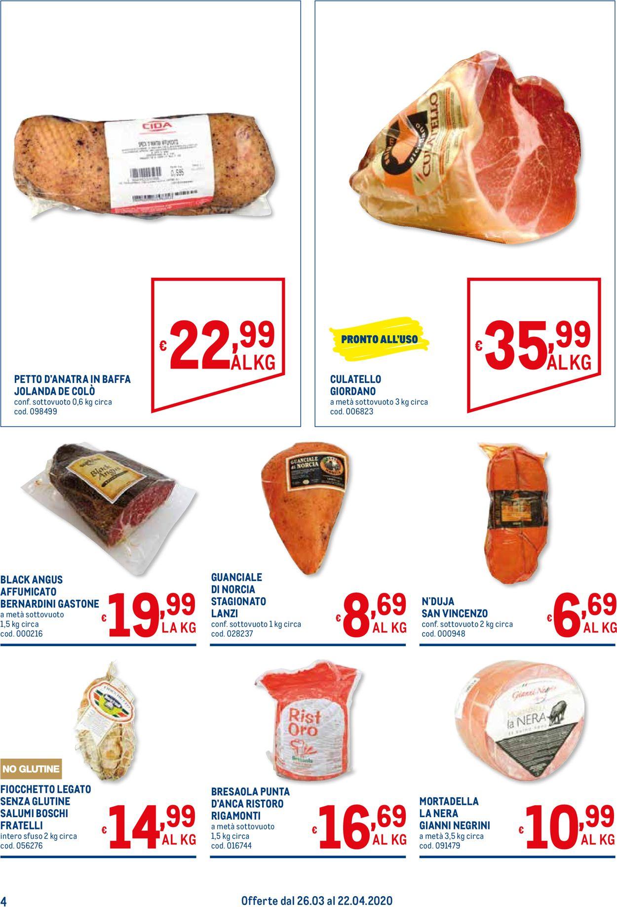 Volantino Metro - Offerte 26/03-22/04/2020 (Pagina 4)