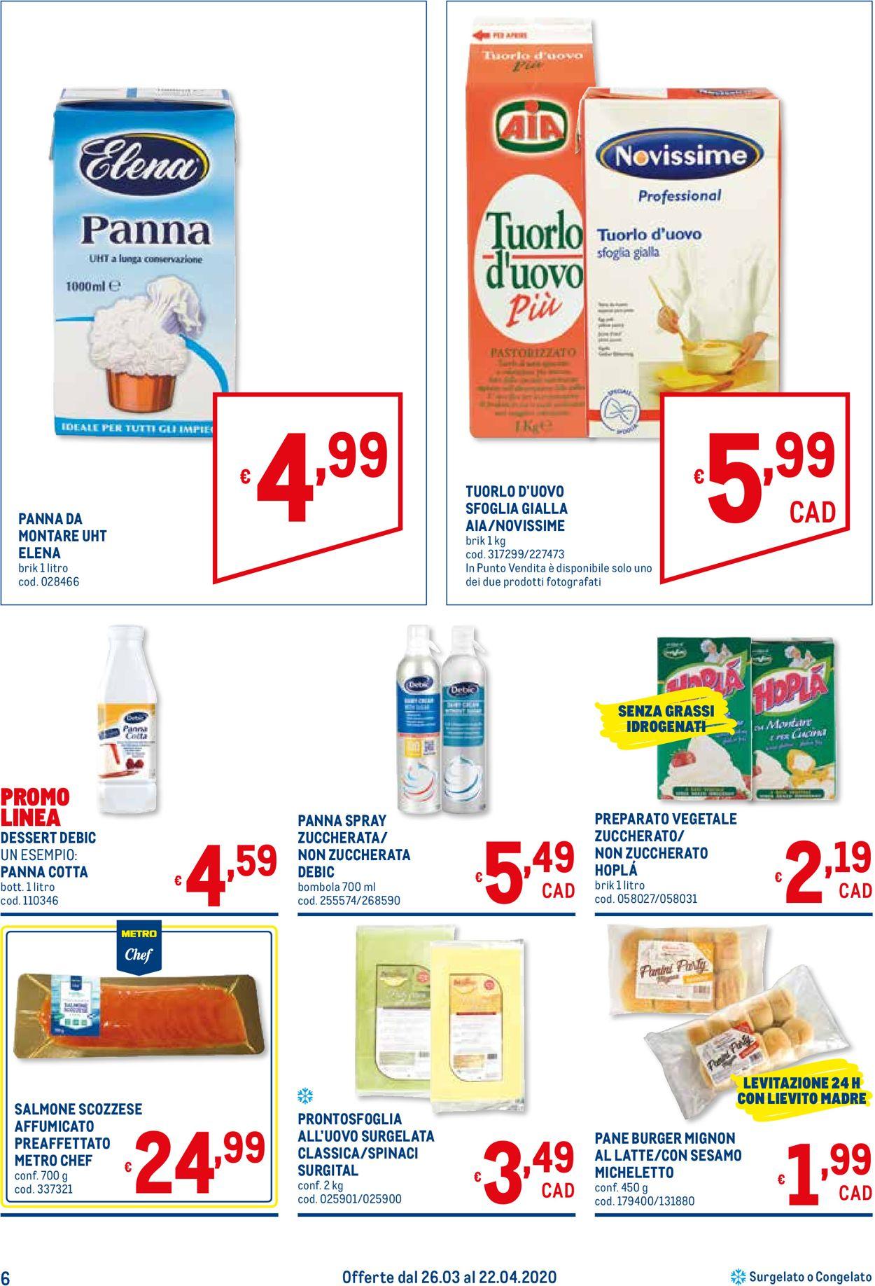 Volantino Metro - Offerte 26/03-22/04/2020 (Pagina 6)