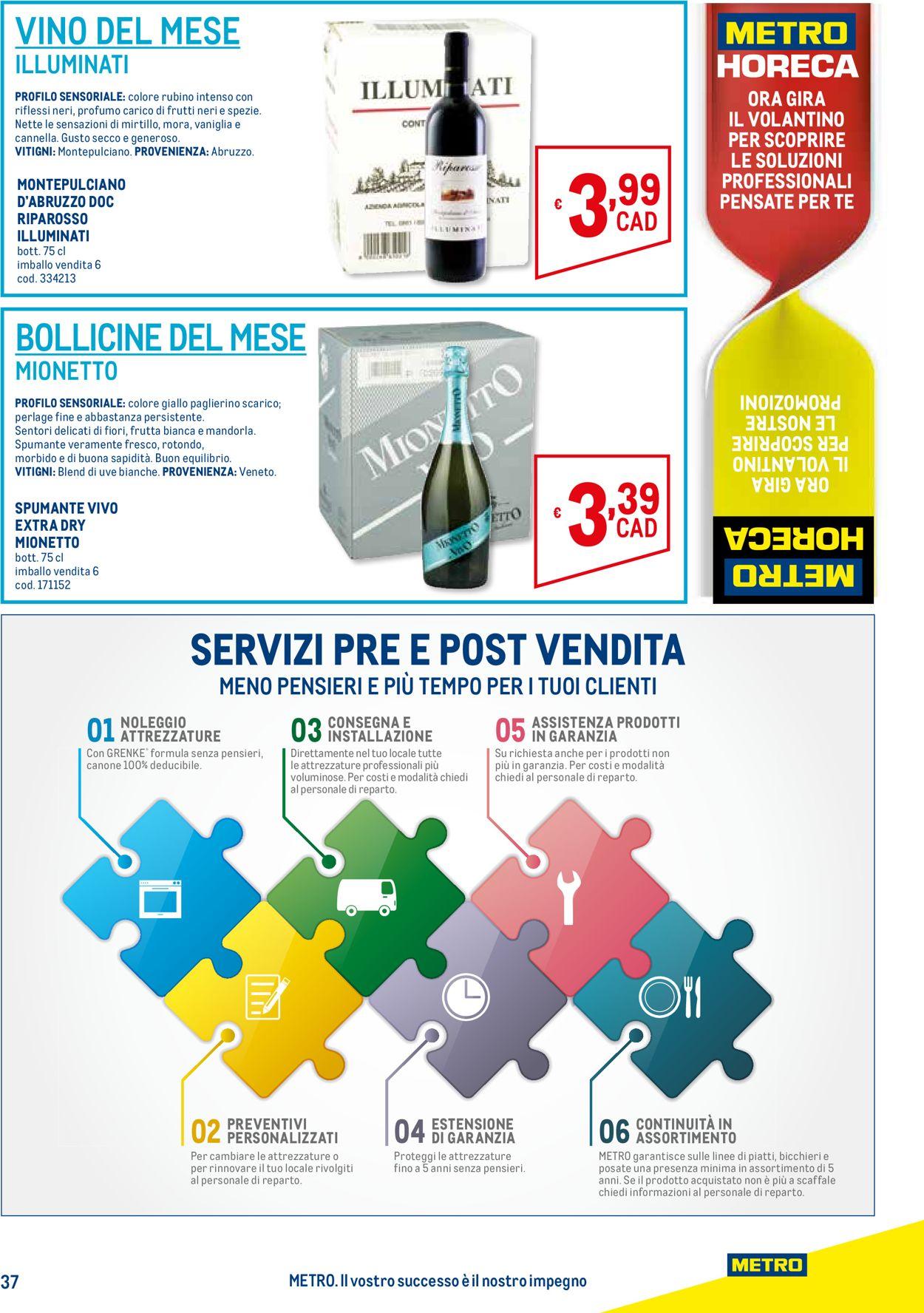 Volantino Metro - Offerte 26/03-22/04/2020 (Pagina 37)