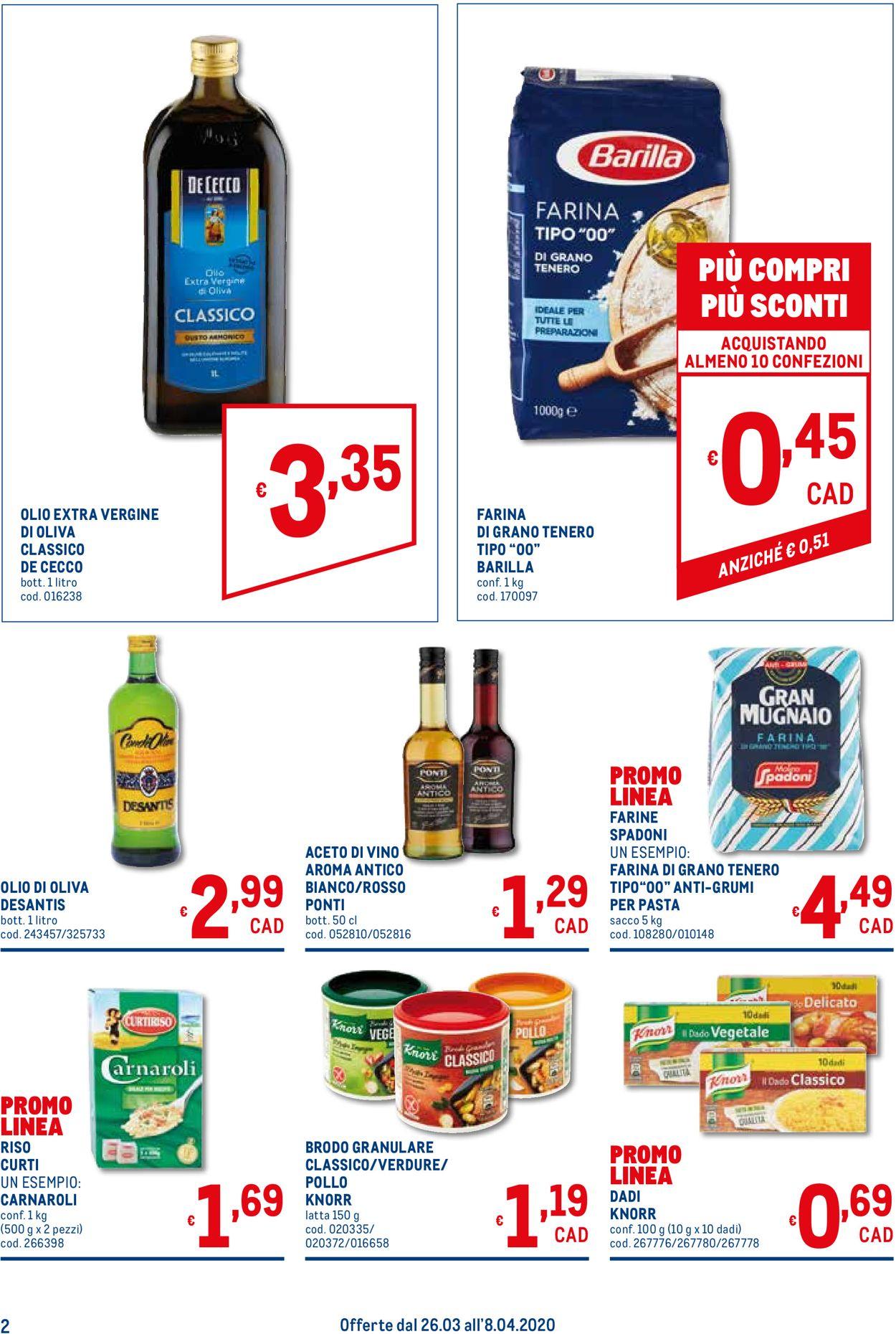 Volantino Metro - Offerte 26/03-08/04/2020 (Pagina 2)