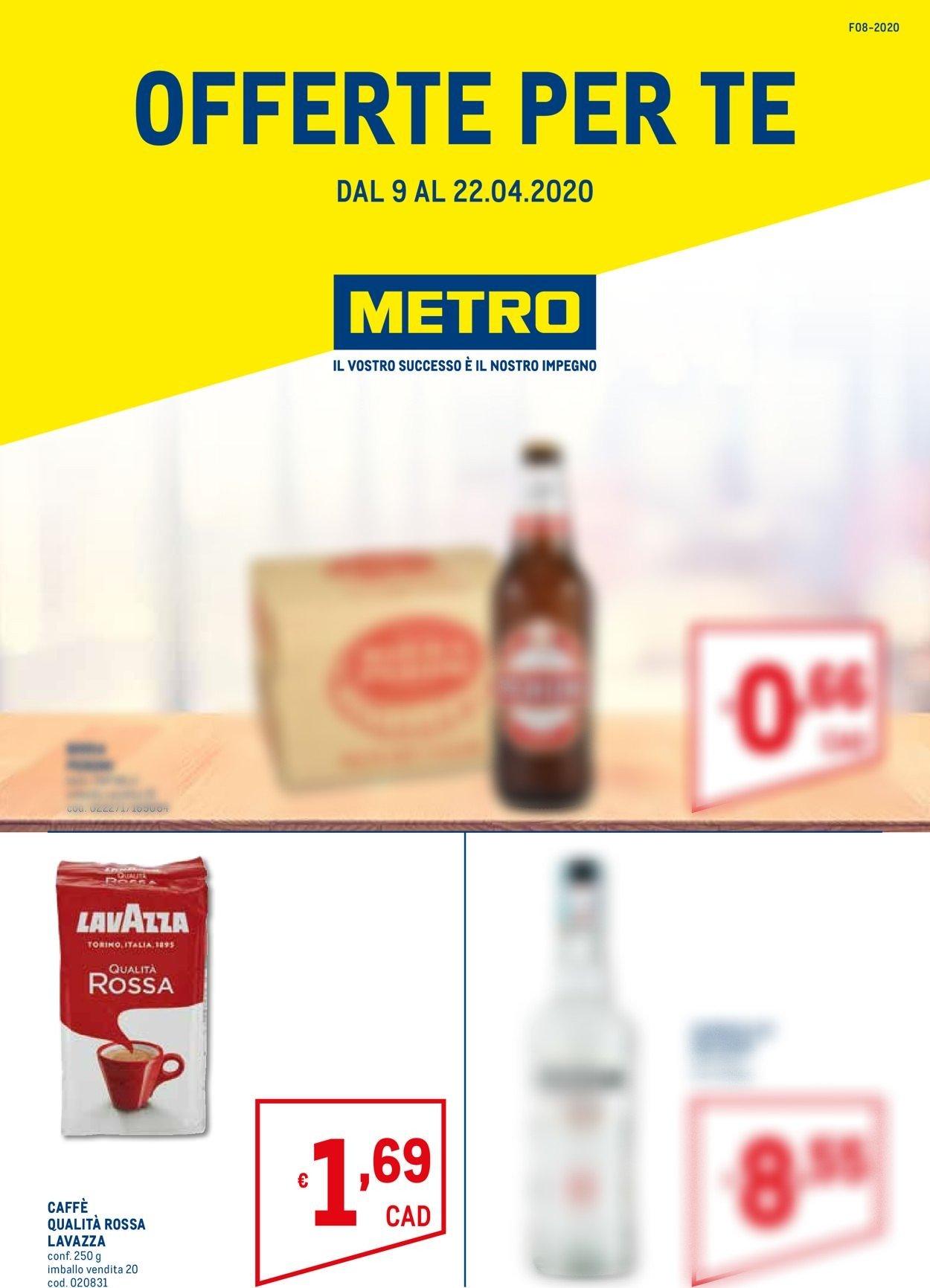 Volantino Metro - Offerte 09/04-22/05/2020