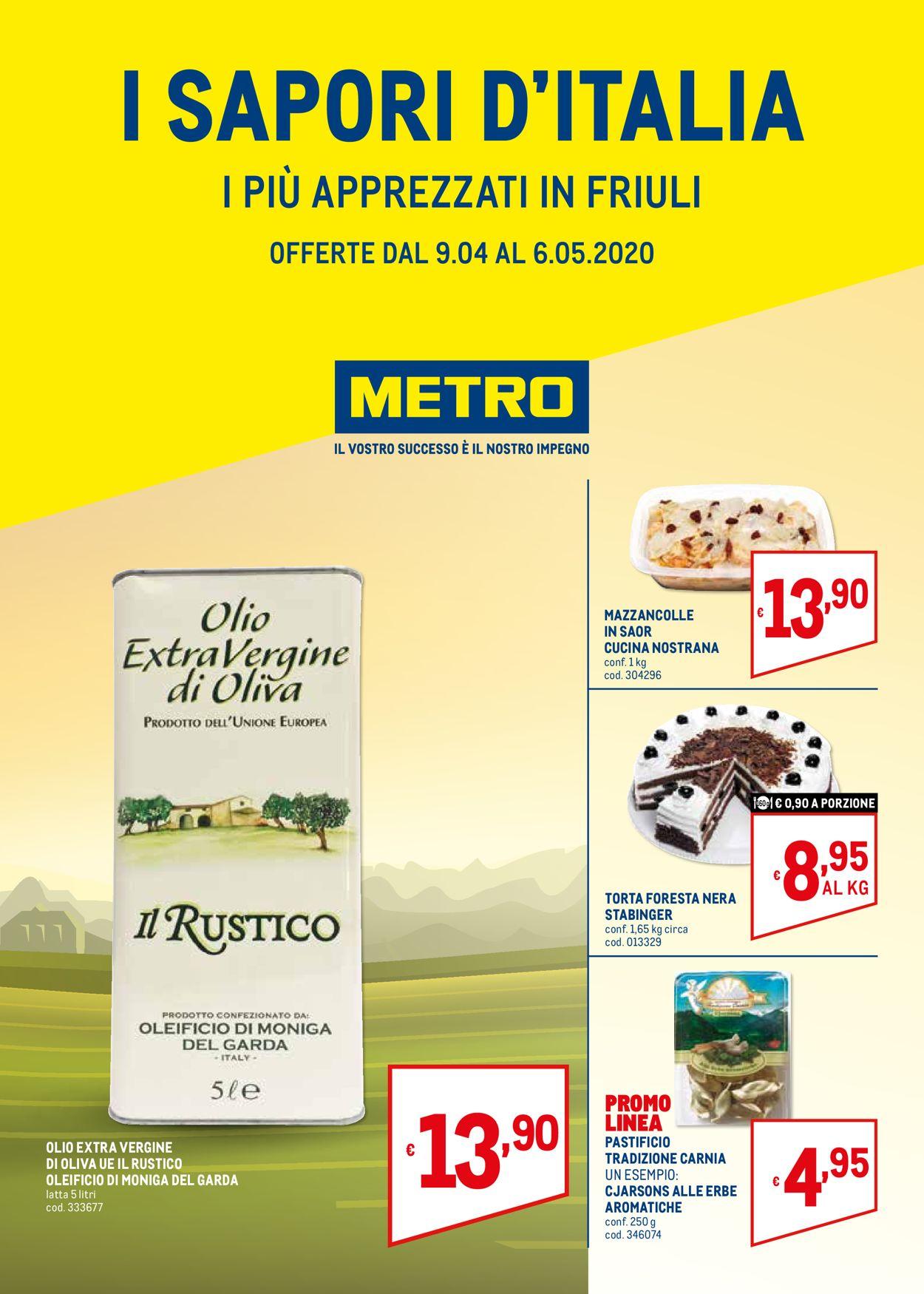 Volantino Metro - Offerte 09/04-06/05/2020