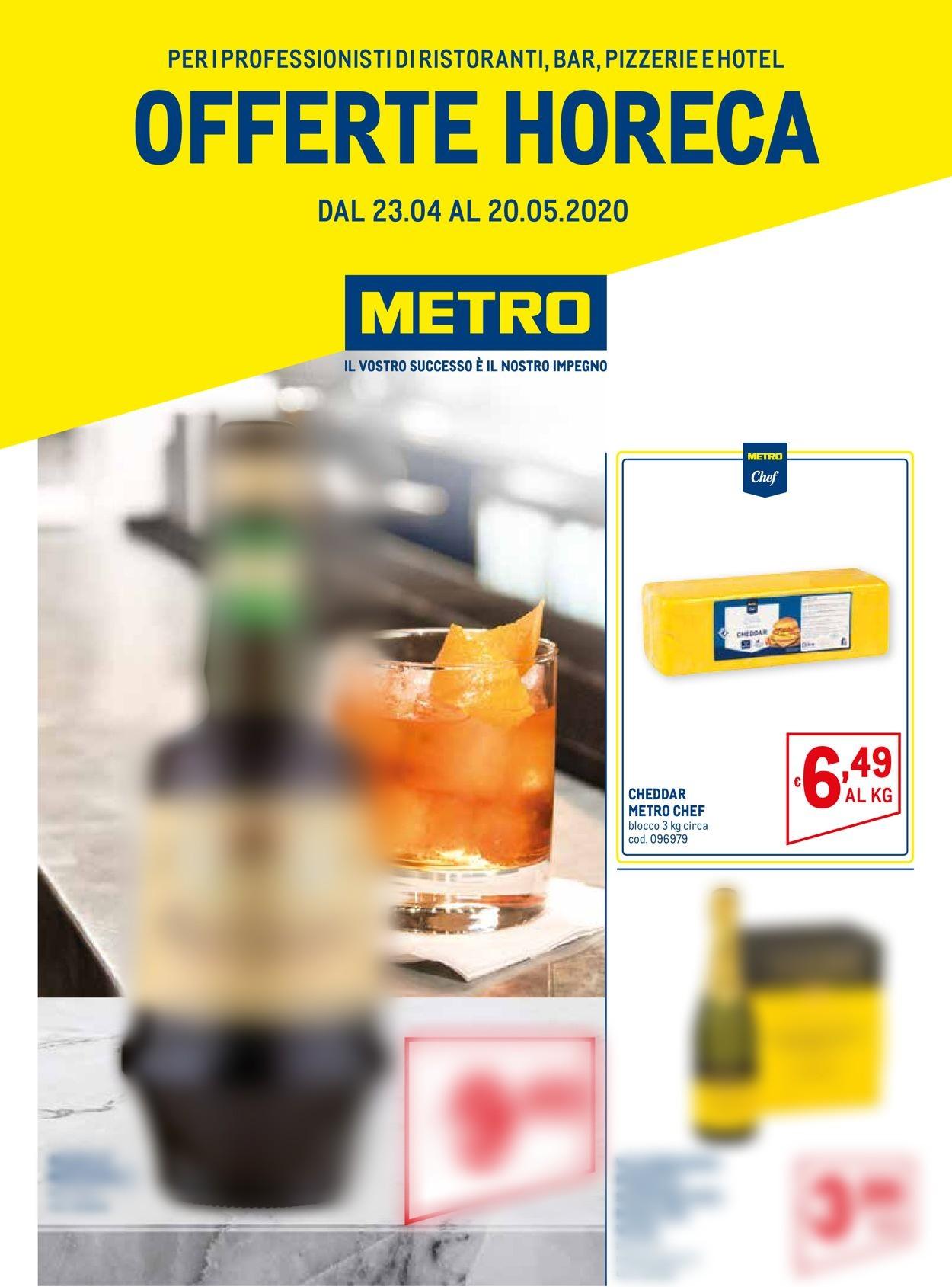Volantino Metro - Offerte 23/04-20/05/2020