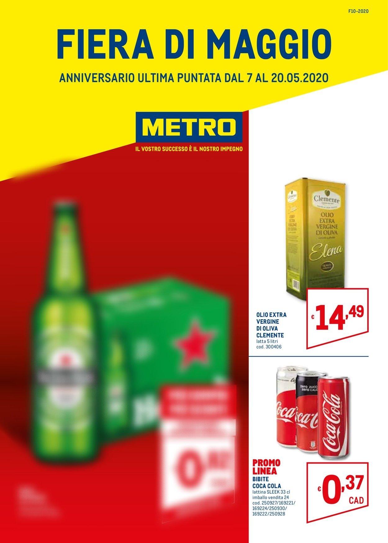 Volantino Metro - Offerte 07/05-20/05/2020
