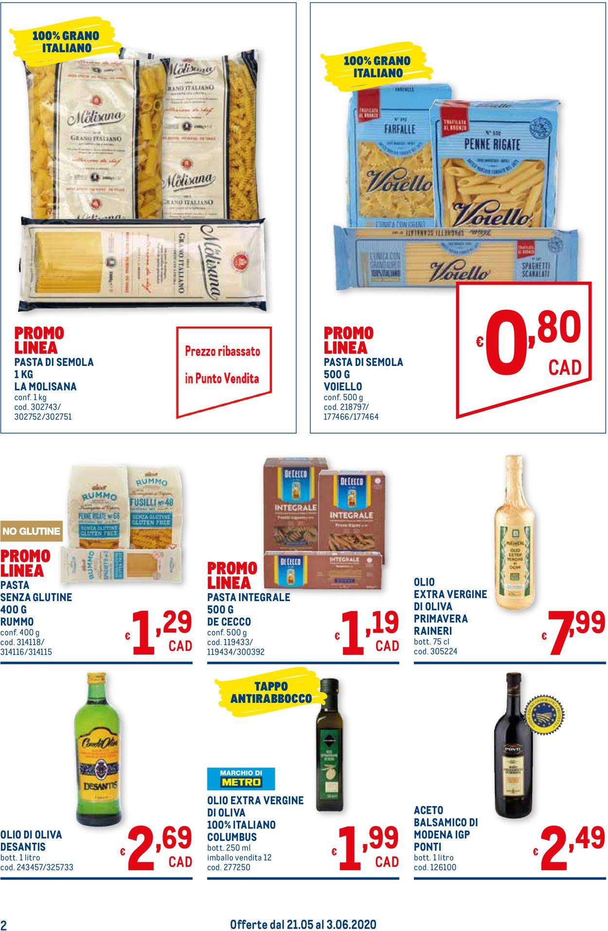 Volantino Metro - Offerte 21/05-03/06/2020 (Pagina 2)