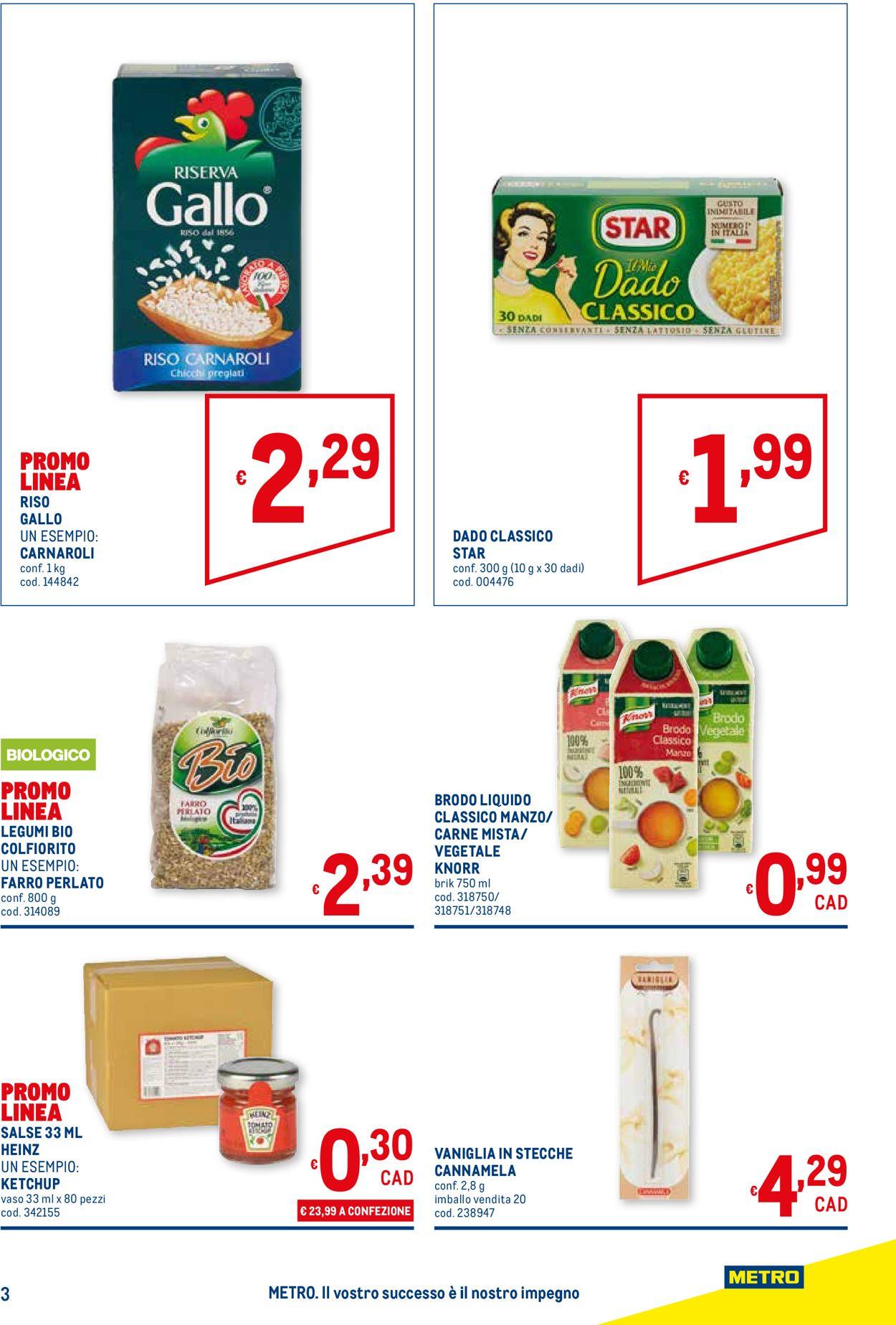 Volantino Metro - Offerte 21/05-03/06/2020 (Pagina 3)