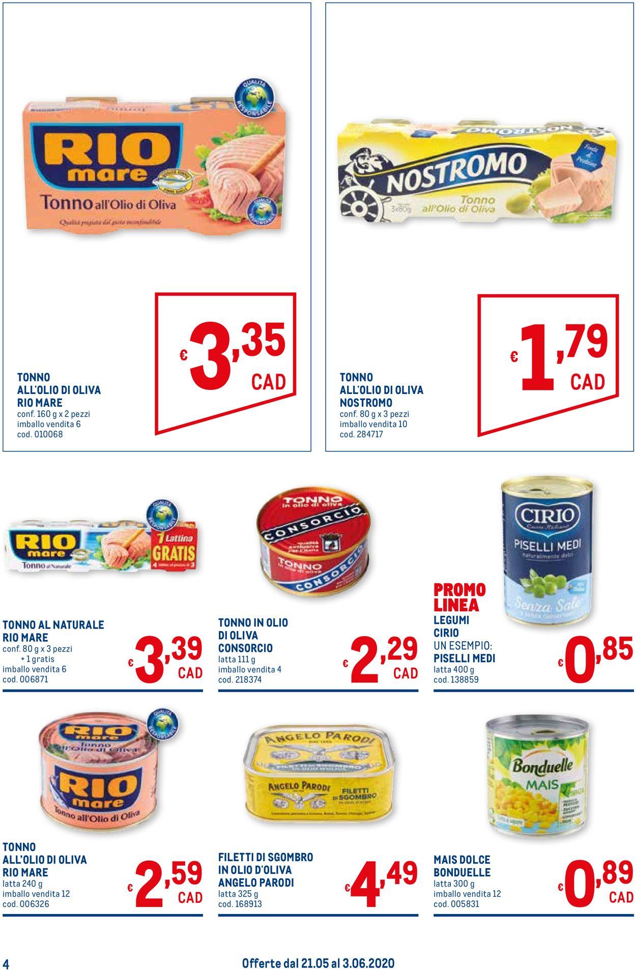 Volantino Metro - Offerte 21/05-03/06/2020 (Pagina 4)