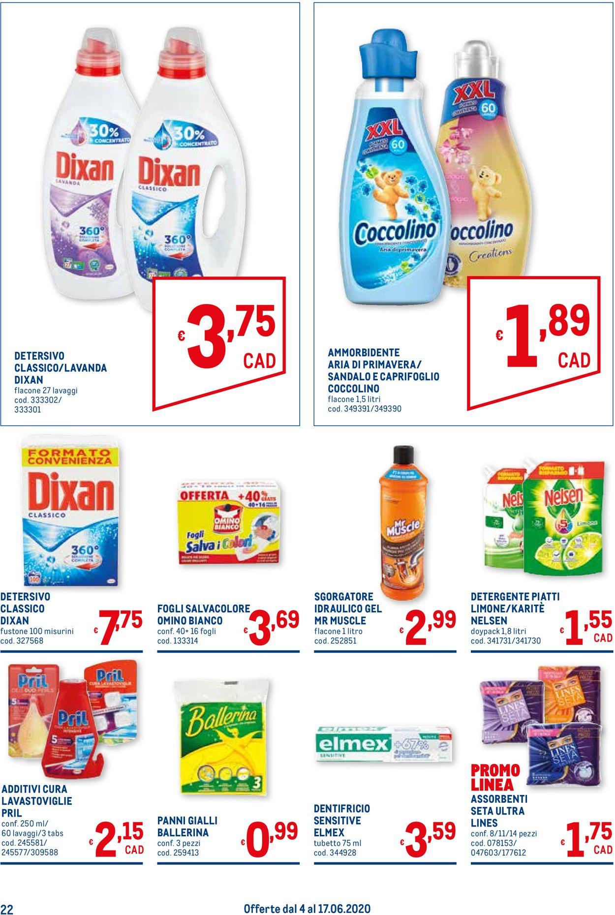 Volantino Metro - Offerte 04/06-17/06/2020 (Pagina 22)