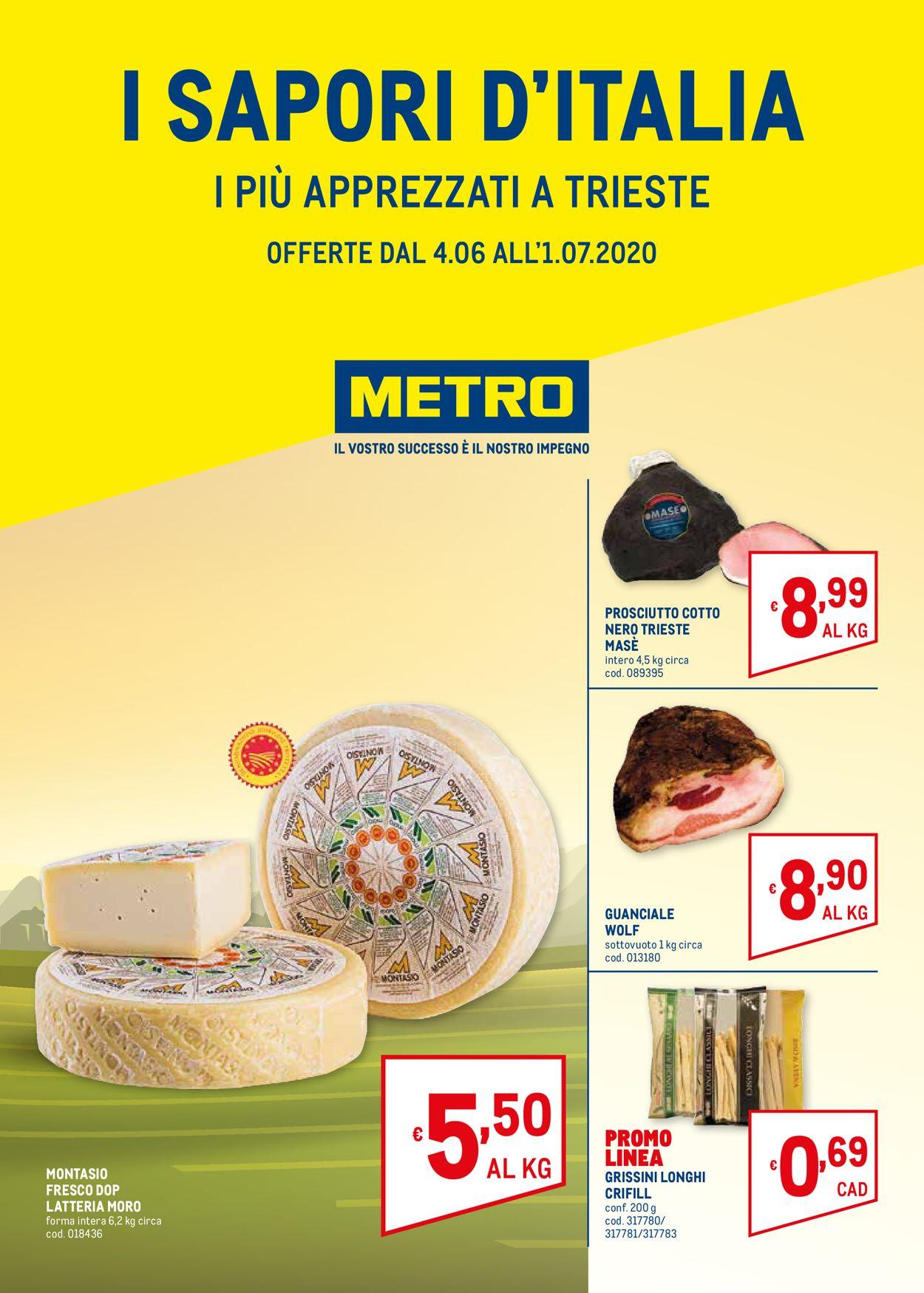 Volantino Metro - Offerte 04/06-01/07/2020
