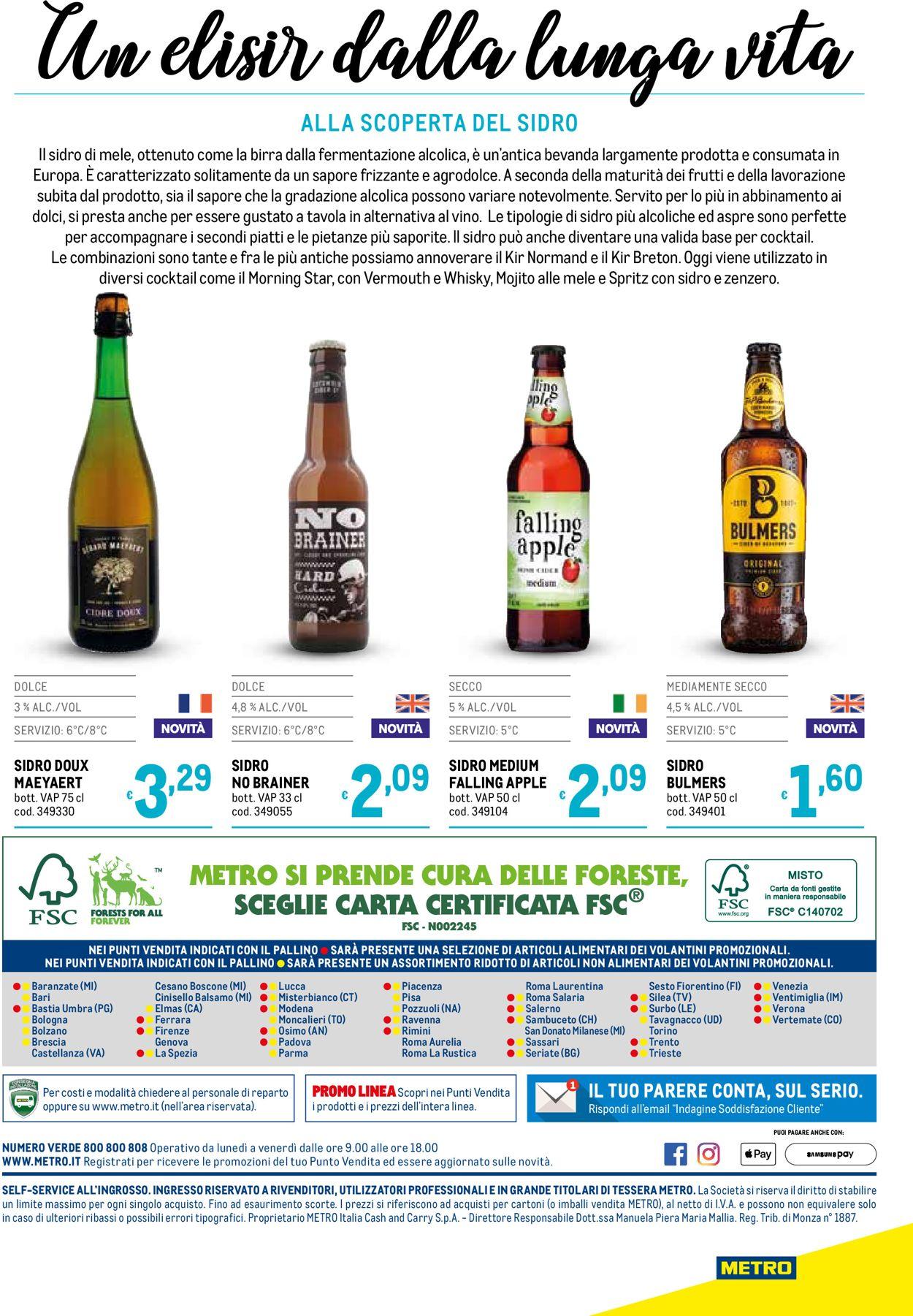 Volantino Metro - Offerte 04/06-28/10/2020 (Pagina 40)