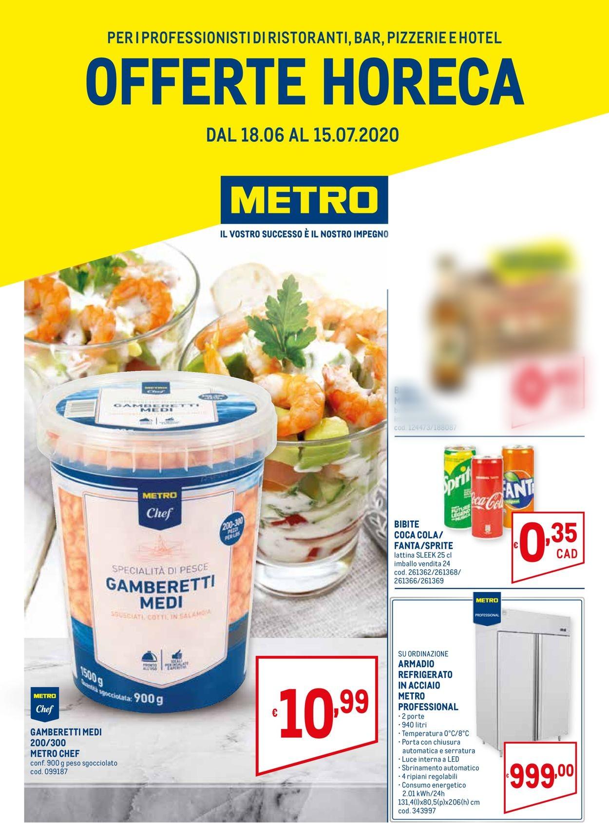 Volantino Metro - Offerte 18/06-15/07/2020