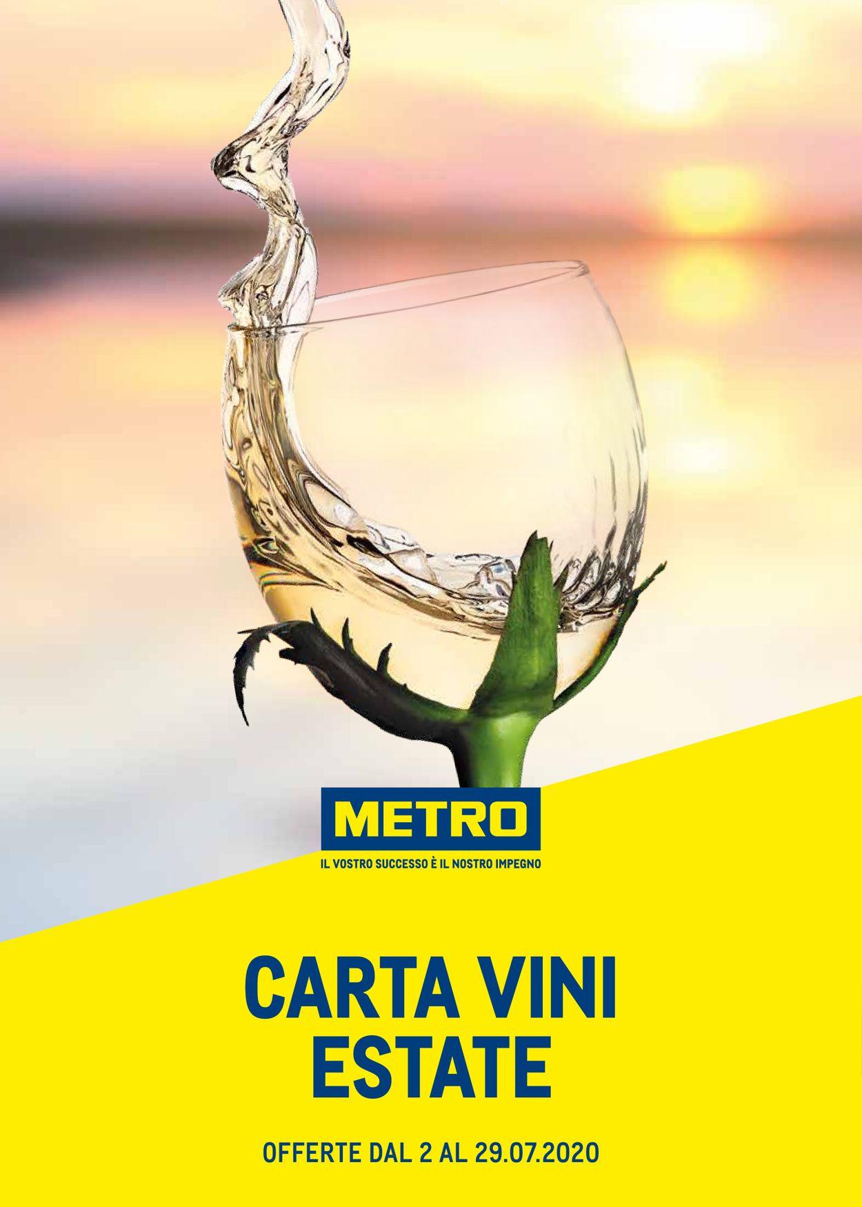 Volantino Metro - Offerte 02/07-29/07/2020