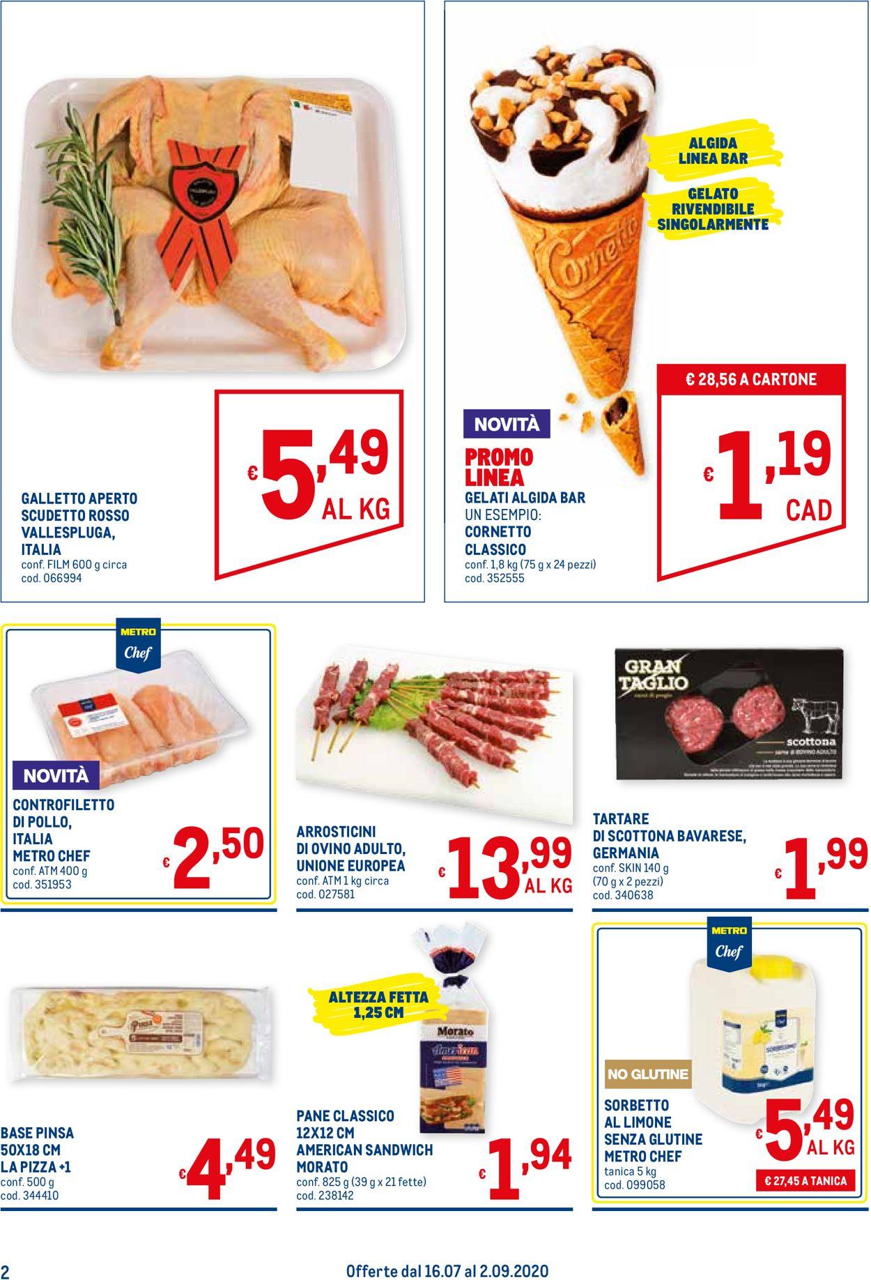 Volantino Metro - Offerte 16/07-02/09/2020 (Pagina 2)