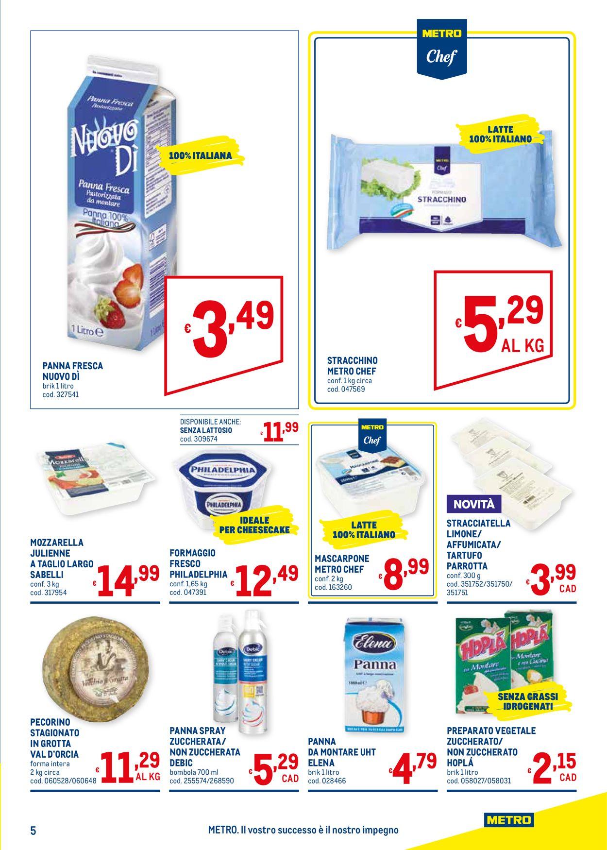 Volantino Metro - Offerte 16/07-02/09/2020 (Pagina 5)
