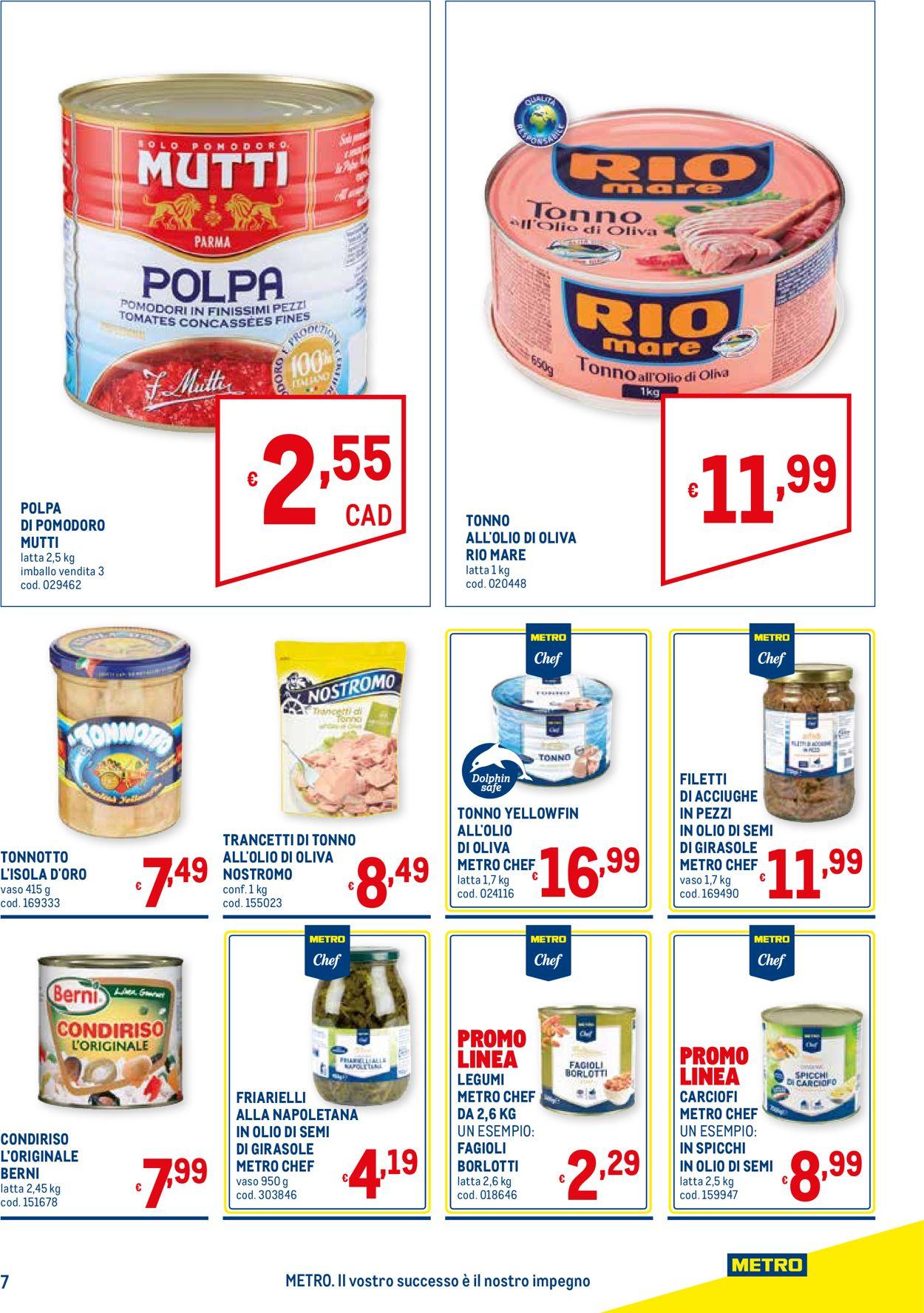 Volantino Metro - Offerte 16/07-02/09/2020 (Pagina 7)