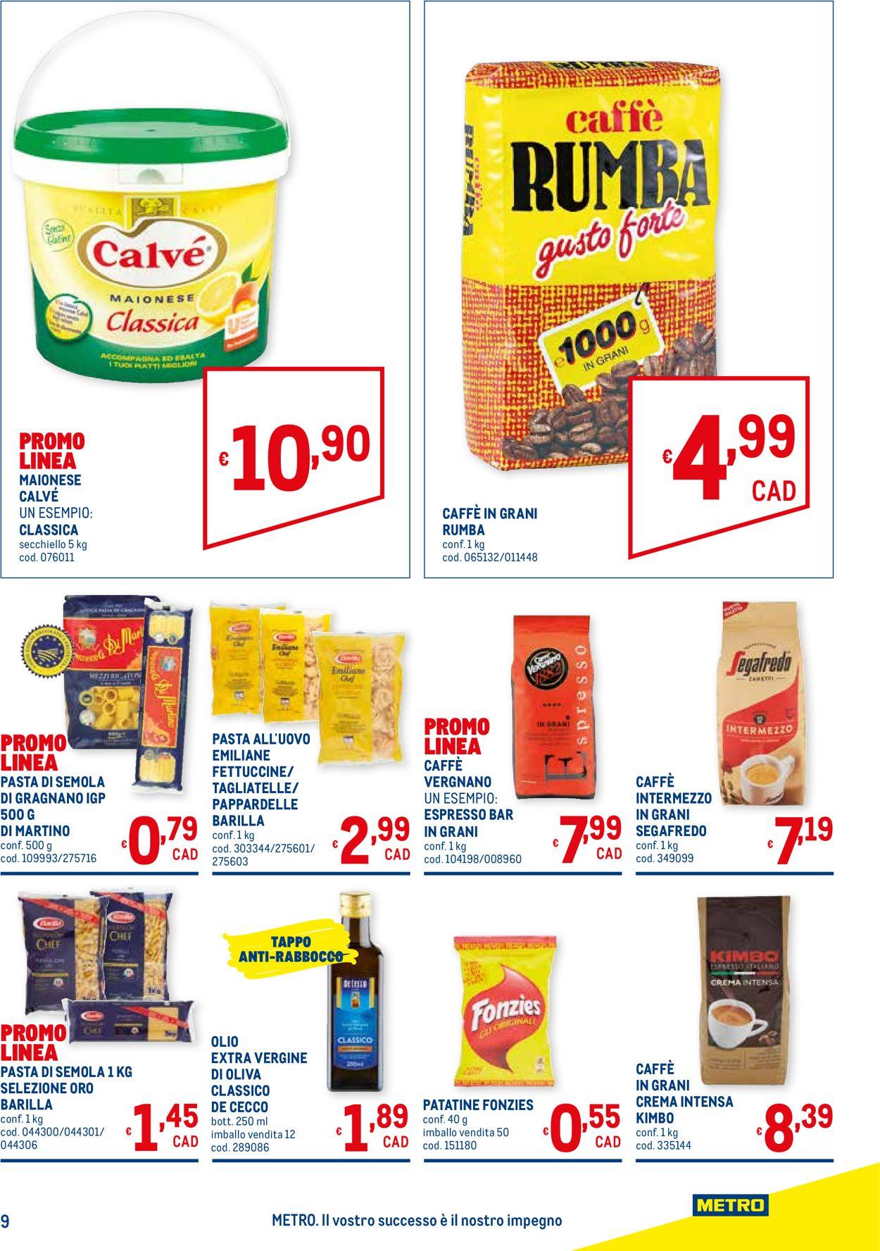 Volantino Metro - Offerte 16/07-02/09/2020 (Pagina 9)