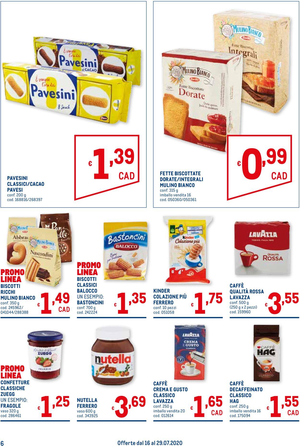 Volantino Metro - Offerte 16/07-29/07/2020 (Pagina 6)