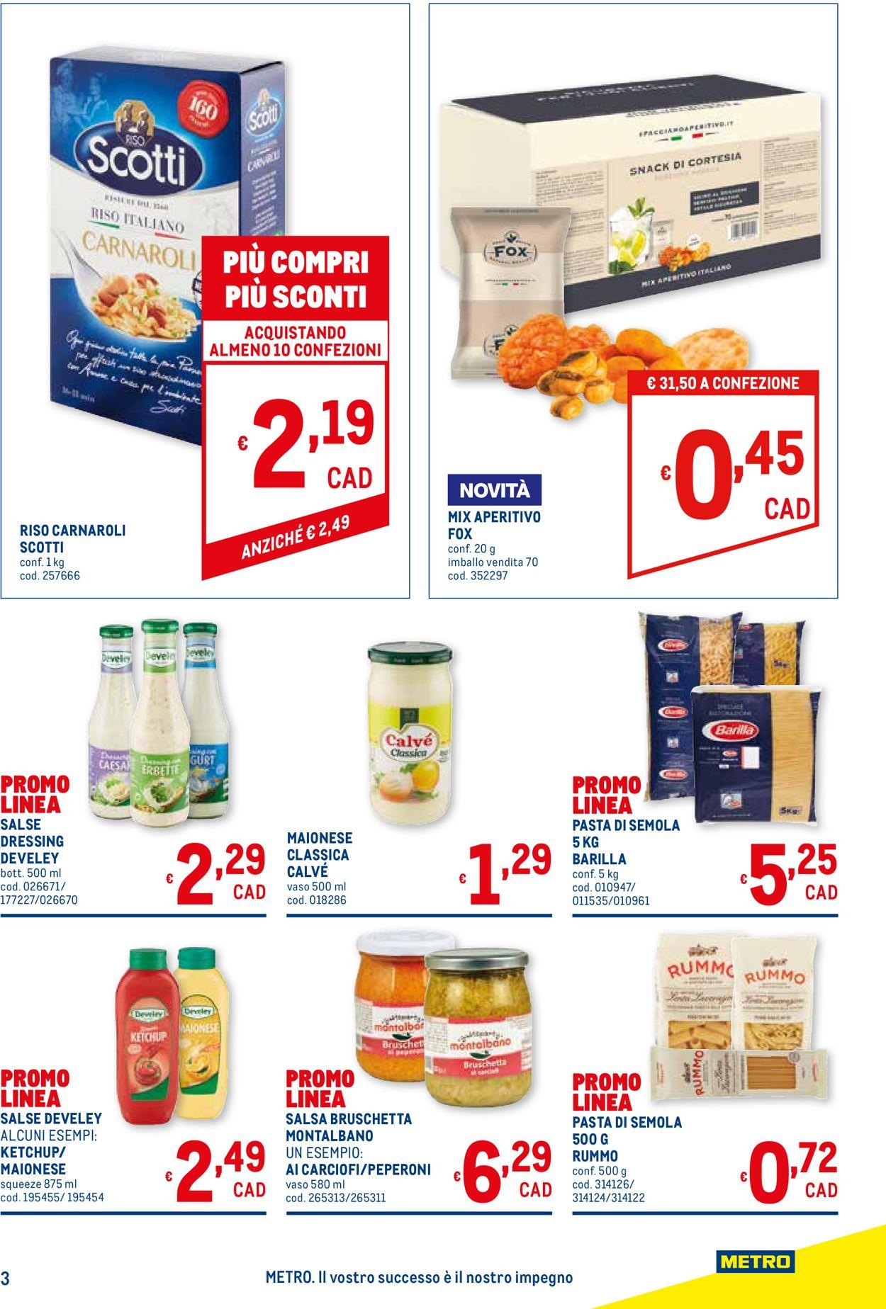 Volantino Metro - Offerte 30/07-19/08/2020 (Pagina 3)
