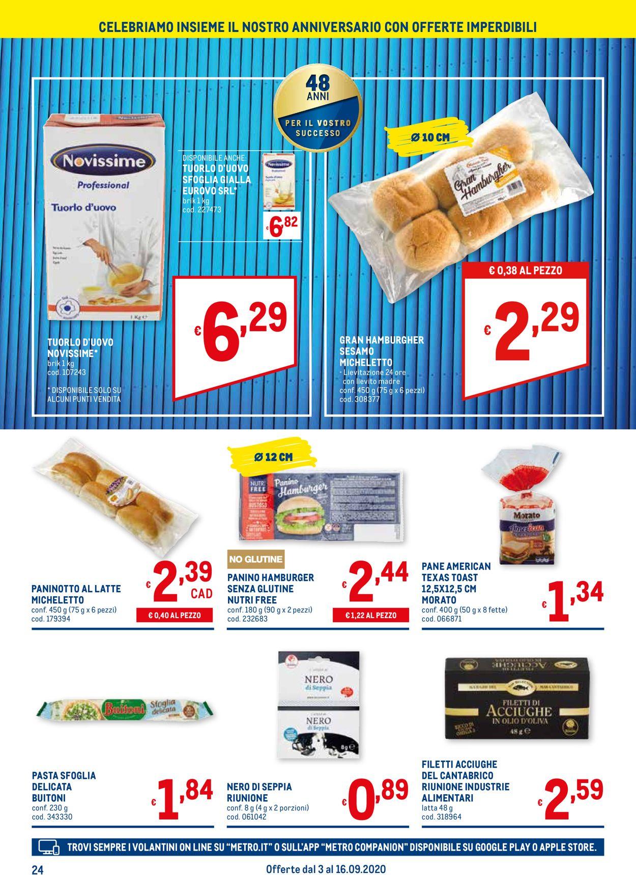 Volantino Metro - Offerte 03/09-16/09/2020 (Pagina 24)