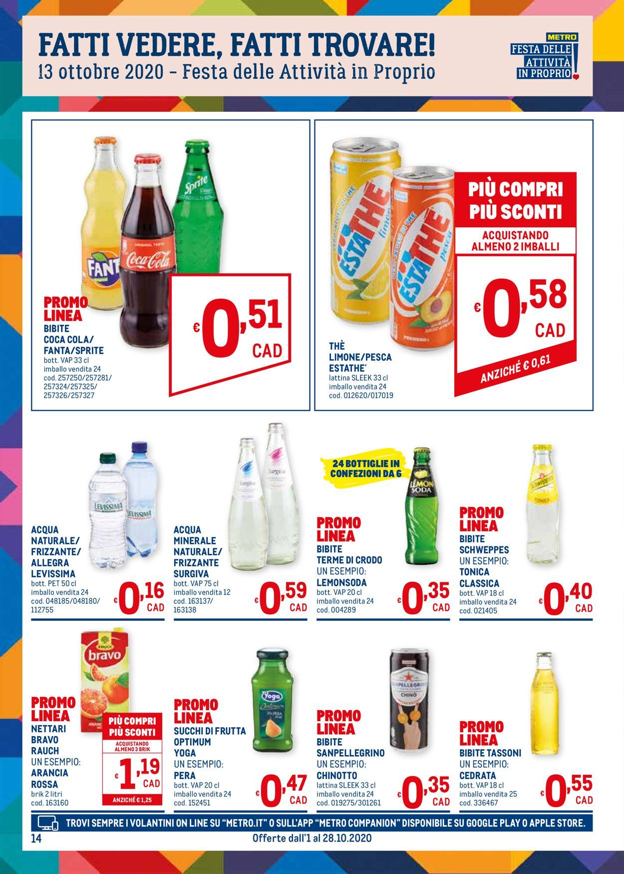 Volantino Metro - Offerte 01/10-28/10/2020 (Pagina 14)
