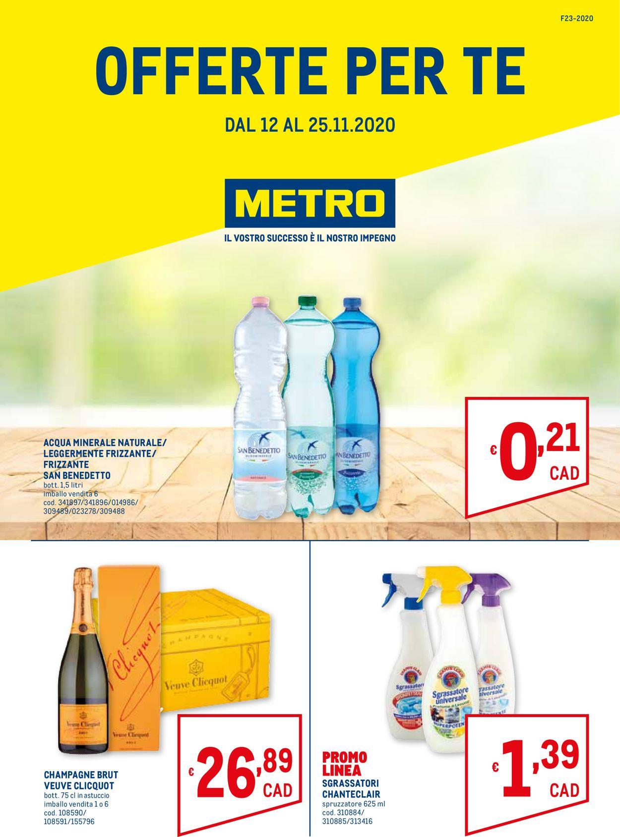Volantino Metro - Offerte 12/11-25/11/2020