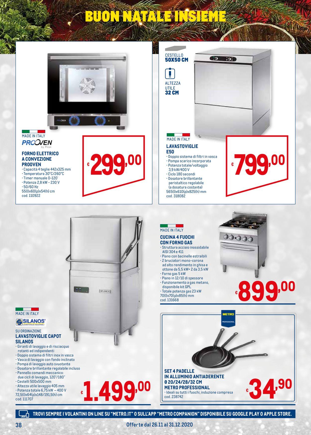 Volantino Metro - Natale 2020 - Offerte 26/11-31/12/2020 (Pagina 38)