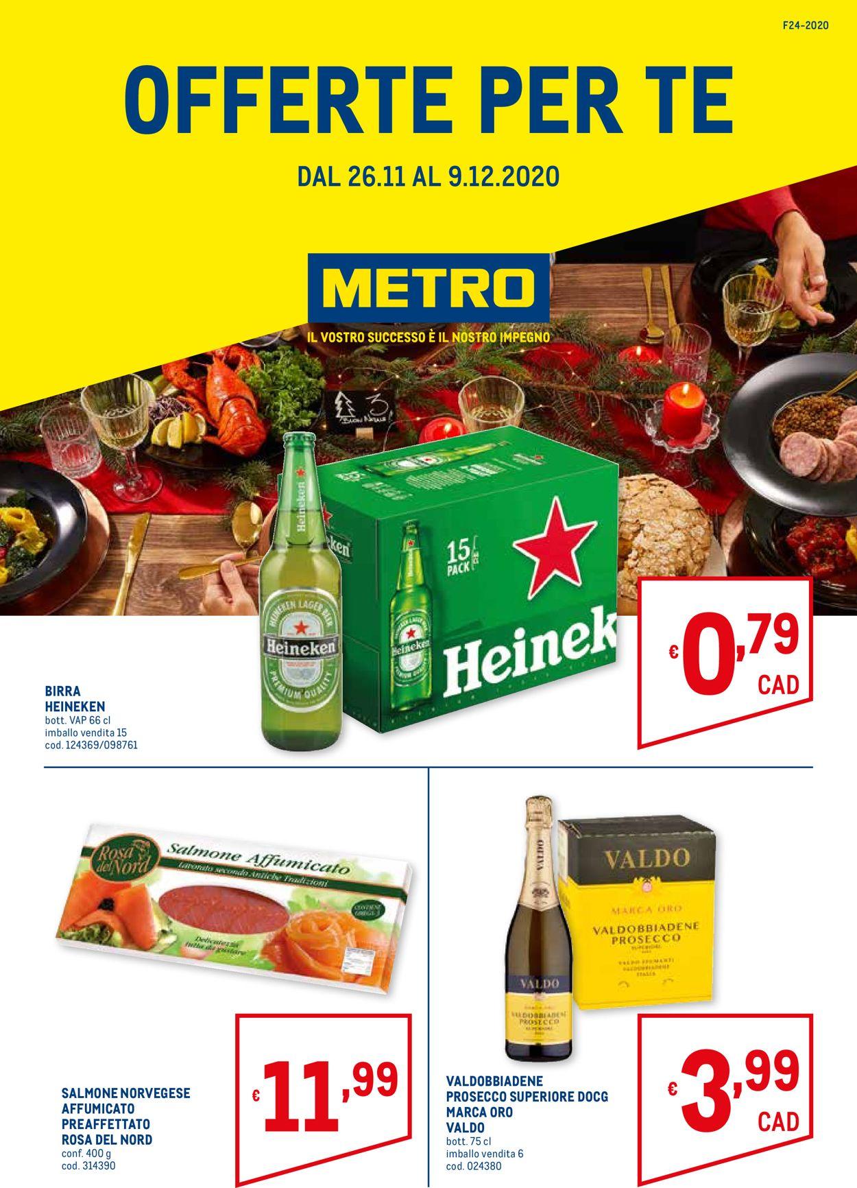Volantino Metro - Black Friday 2020 - Offerte 26/11-09/12/2020