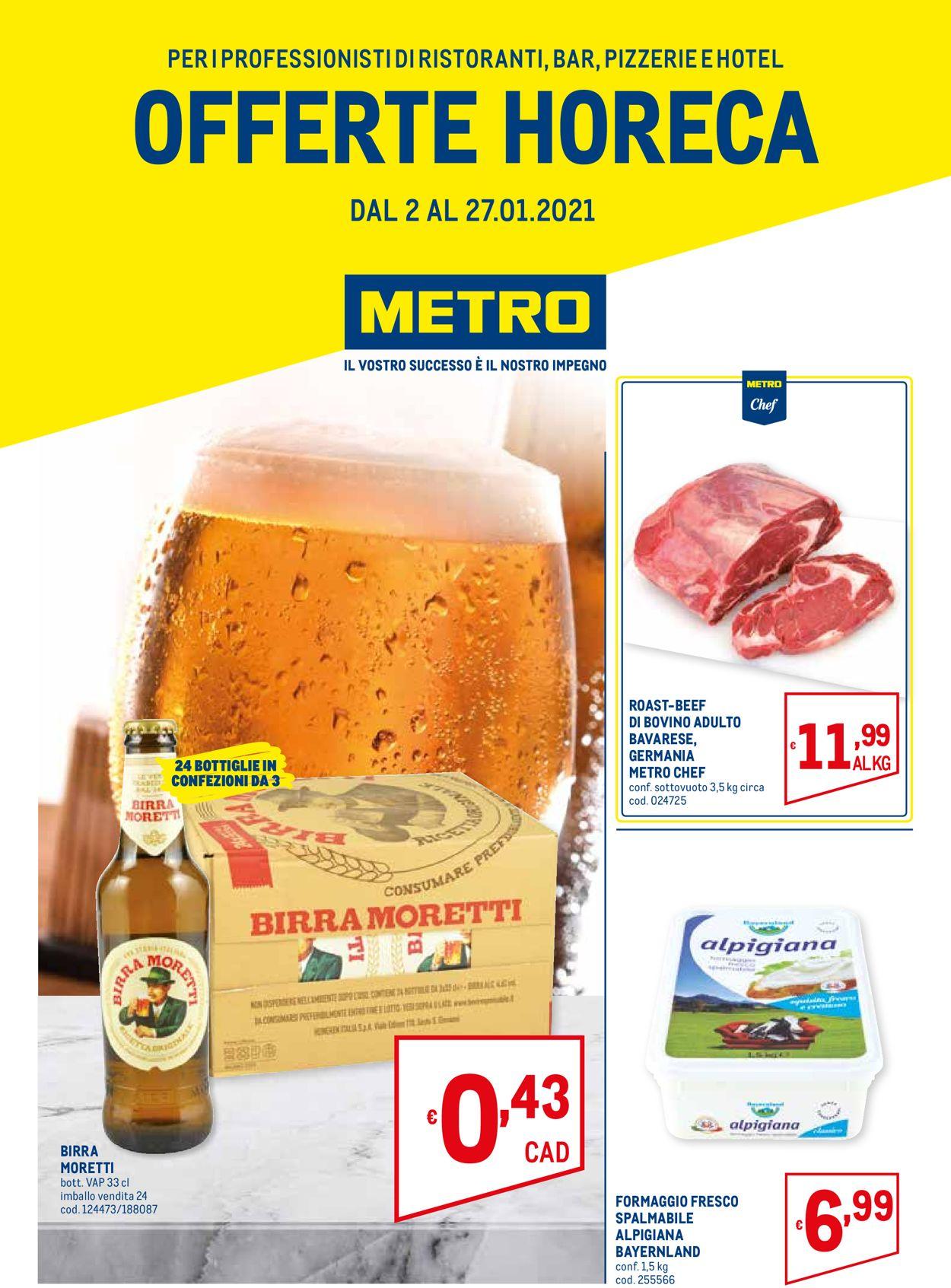 Volantino Metro - Offerte 02/01-27/01/2021