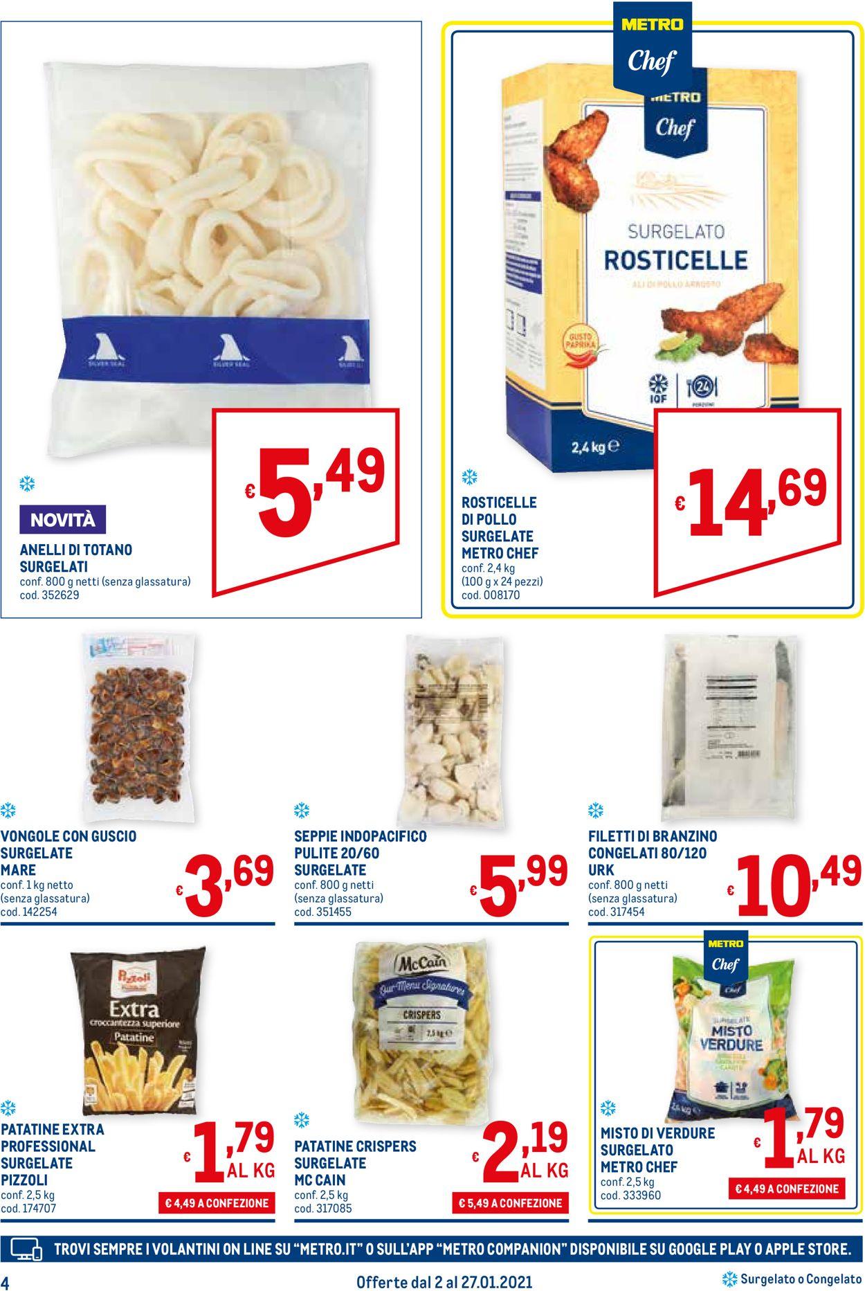 Volantino Metro - Offerte 02/01-27/01/2021 (Pagina 4)