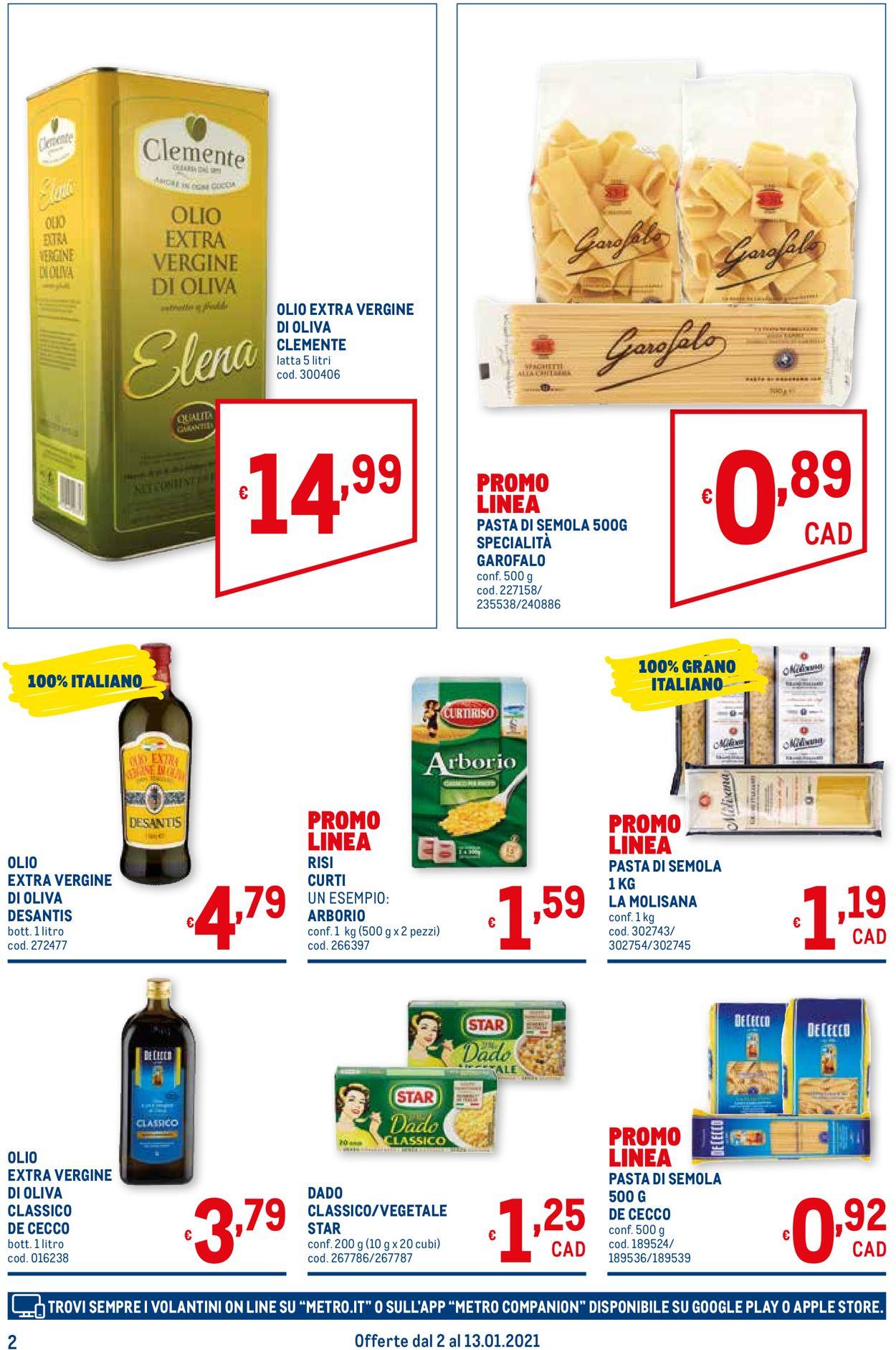 Volantino Metro - Offerte 02/01-13/01/2021 (Pagina 2)