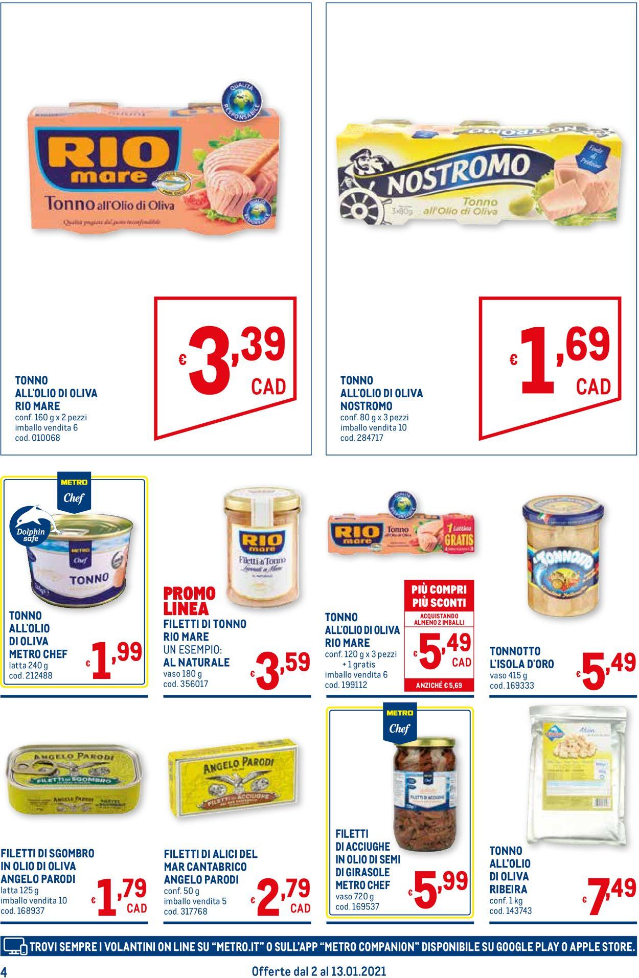 Volantino Metro - Offerte 02/01-13/01/2021 (Pagina 4)