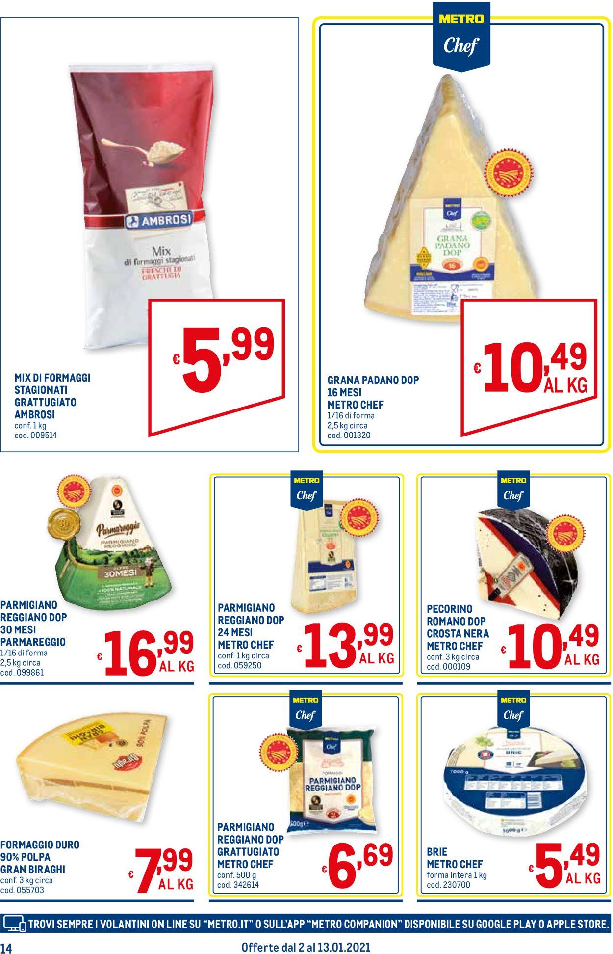 Volantino Metro - Offerte 02/01-13/01/2021 (Pagina 14)