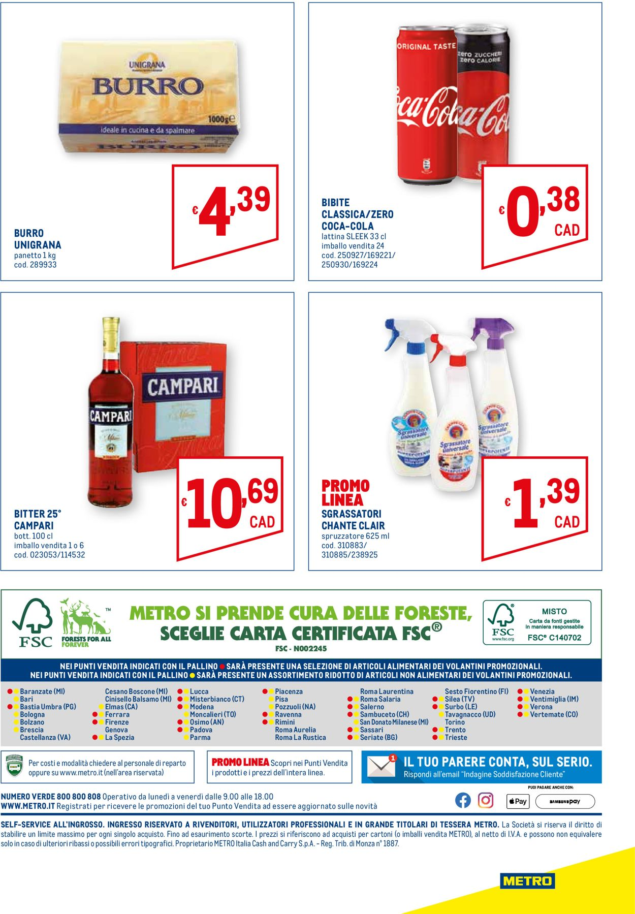 Volantino Metro - Offerte 14/01-27/01/2021 (Pagina 20)