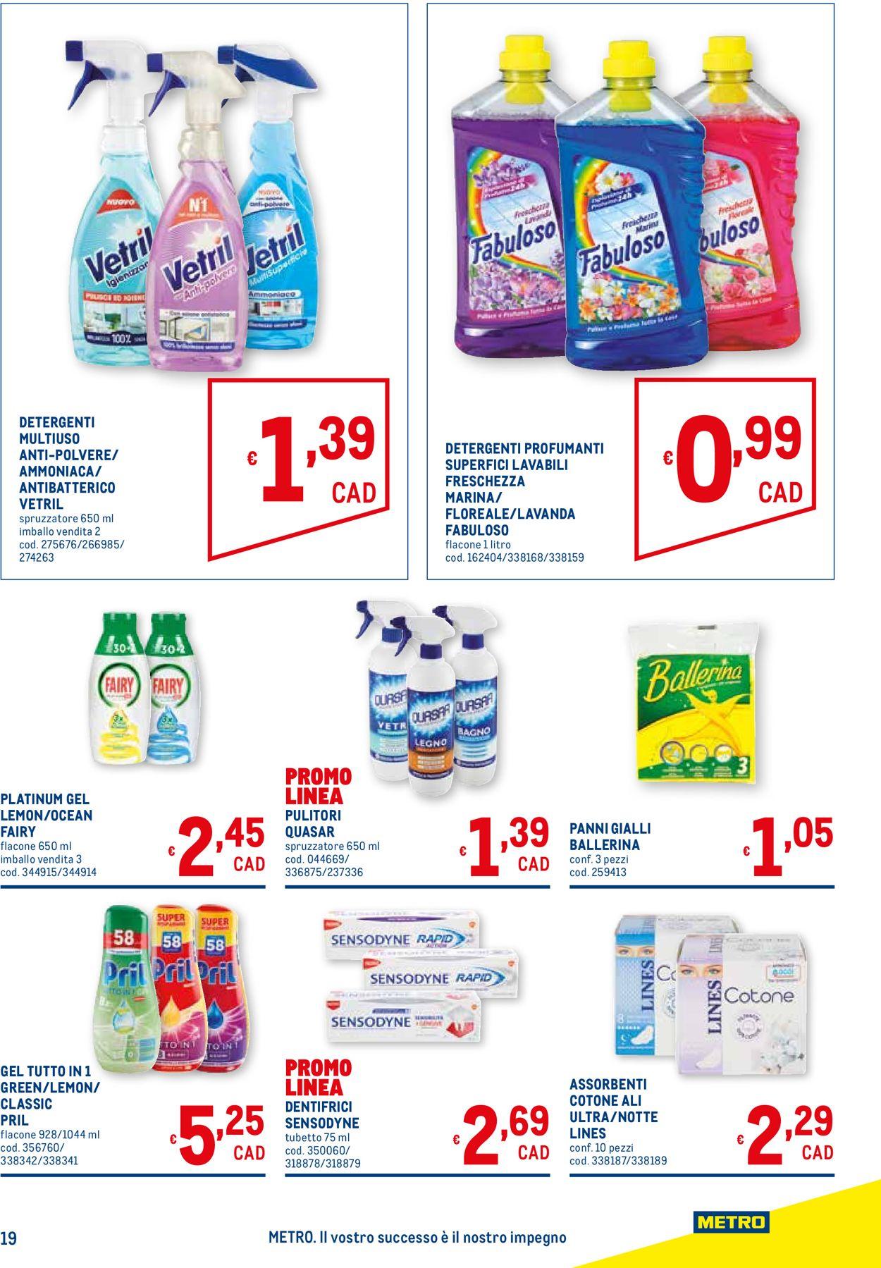 Volantino Metro - Offerte 28/01-10/02/2021 (Pagina 19)