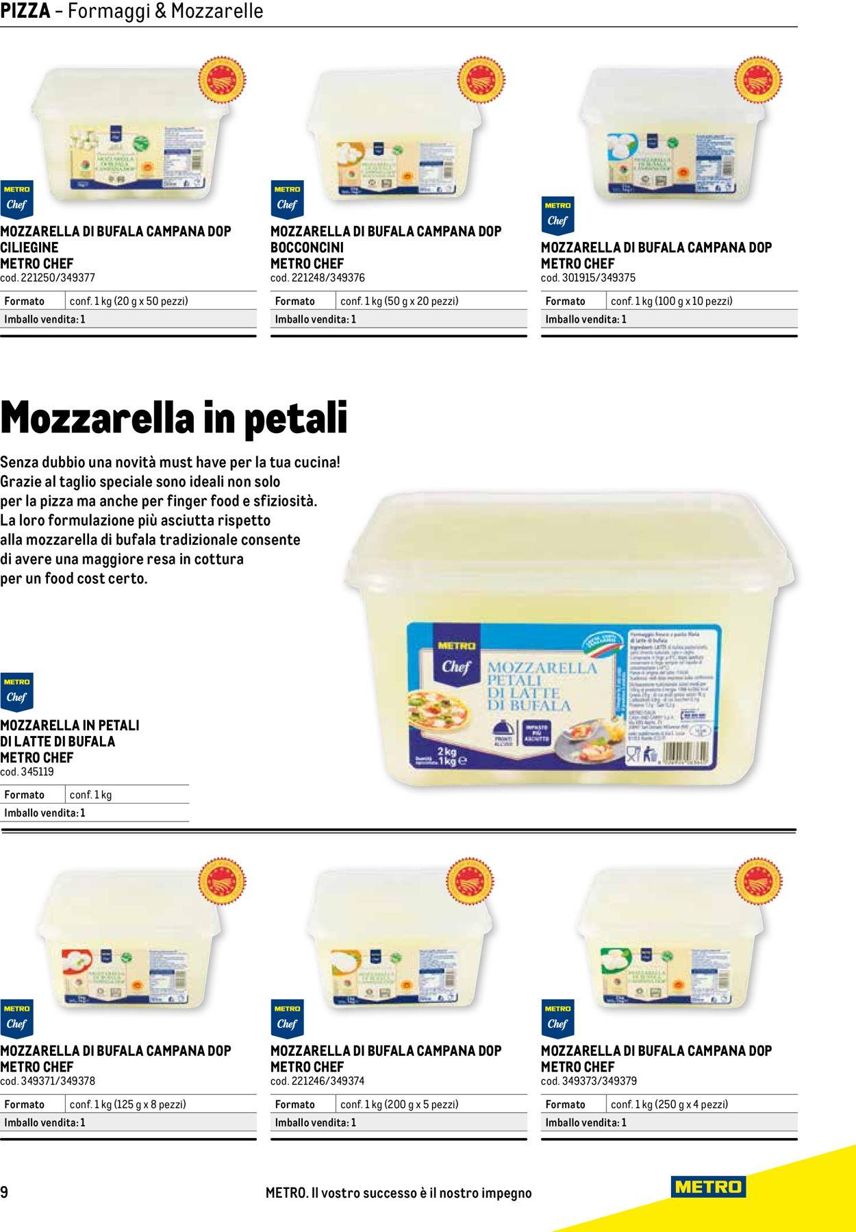 Volantino Metro - Offerte 26/01-31/03/2021 (Pagina 9)