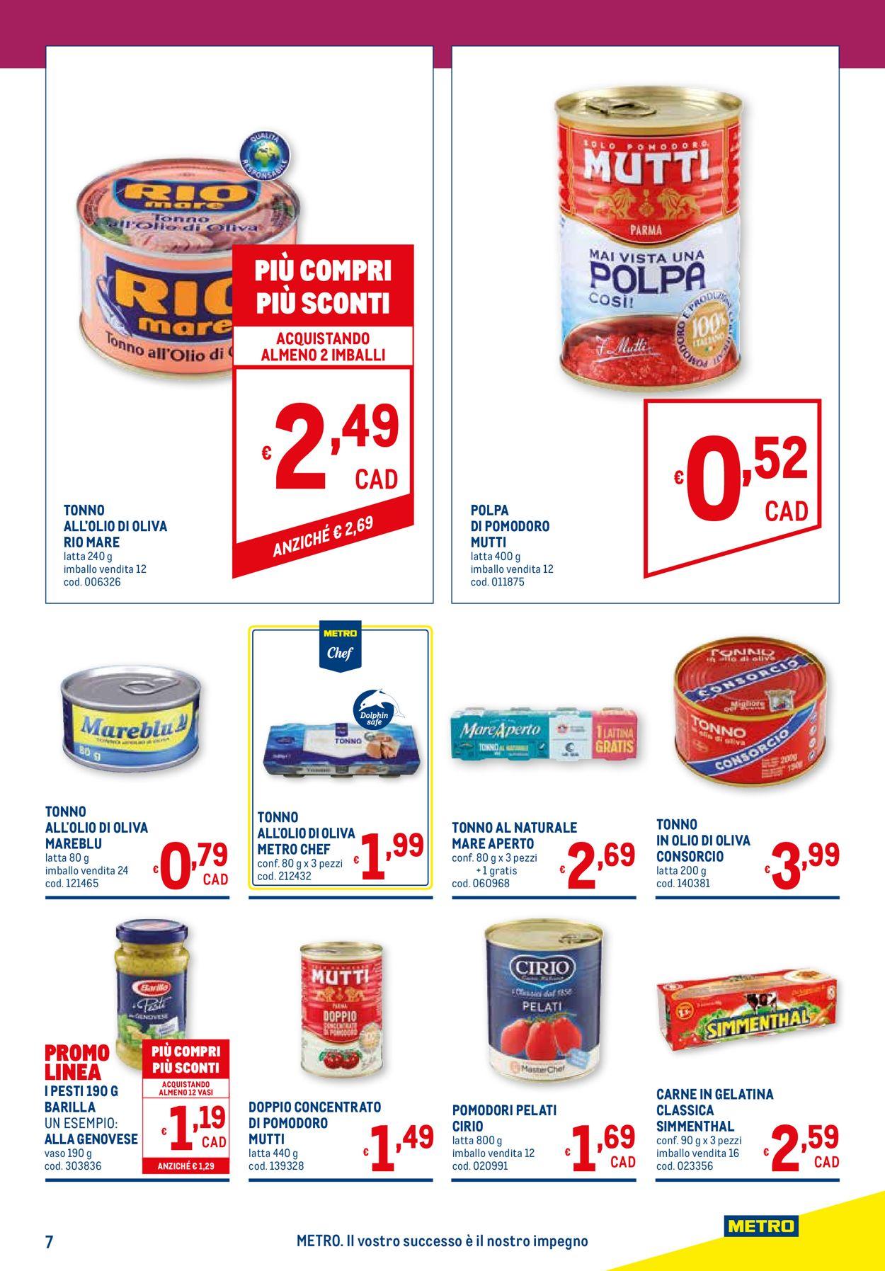Volantino Metro - Offerte 11/02-24/02/2021 (Pagina 7)