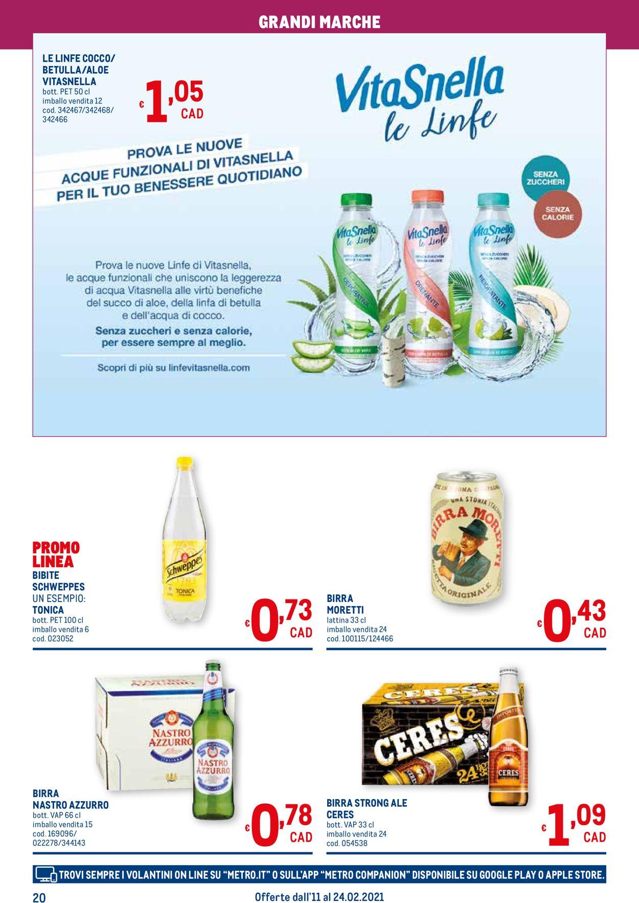 Volantino Metro - Offerte 11/02-24/02/2021 (Pagina 20)