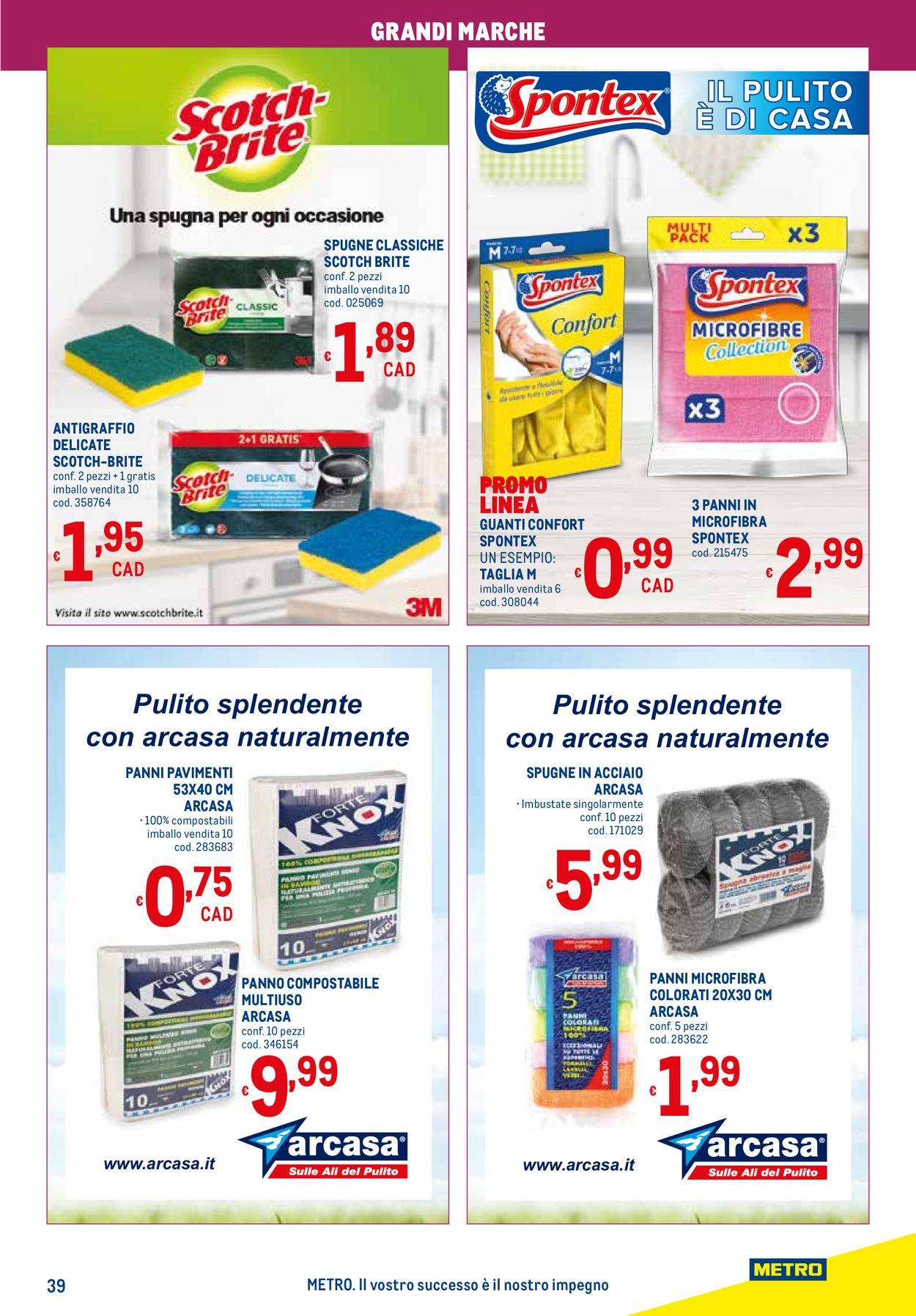 Volantino Metro - Offerte 11/02-24/02/2021 (Pagina 39)