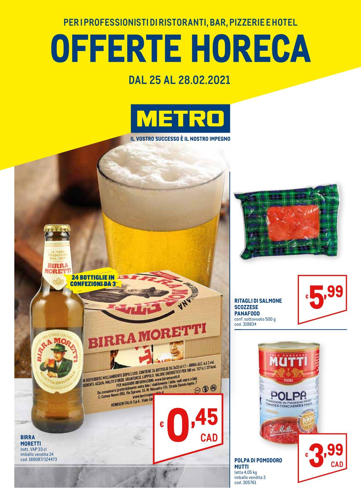 Volantino Metro - Offerte 25/02-28/02/2021