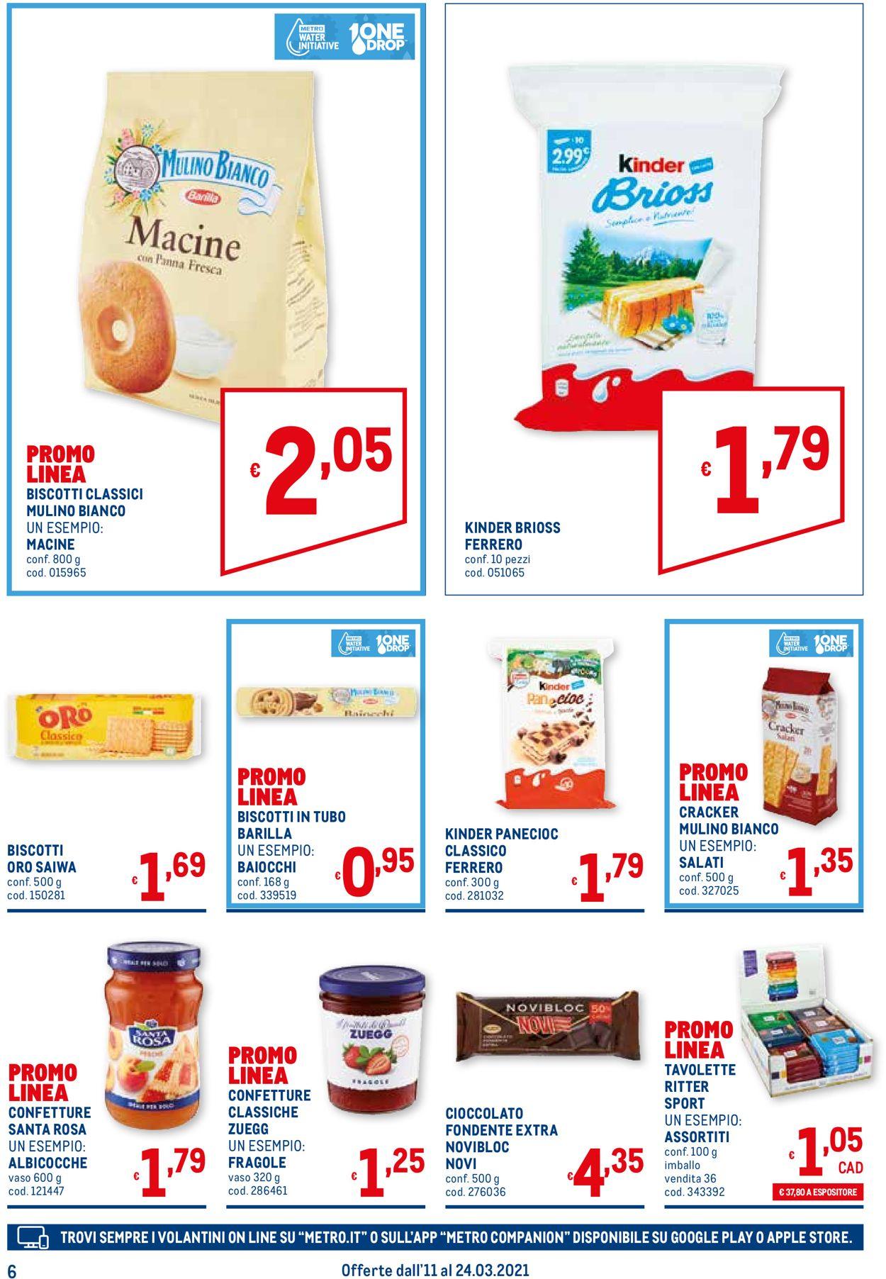 Volantino Metro - Offerte 11/03-24/03/2021 (Pagina 6)