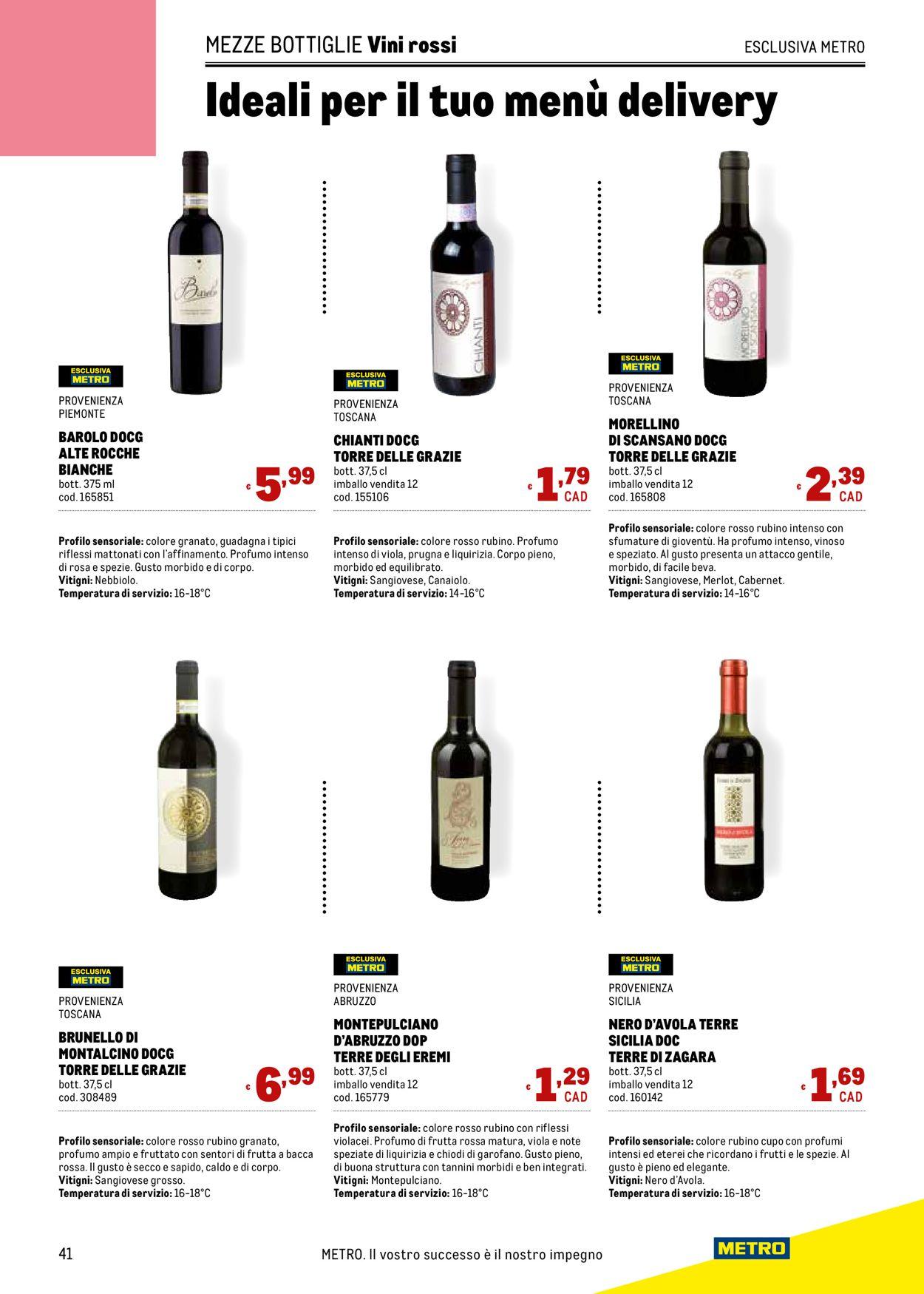 Volantino Metro - Offerte 11/03-07/04/2021 (Pagina 41)