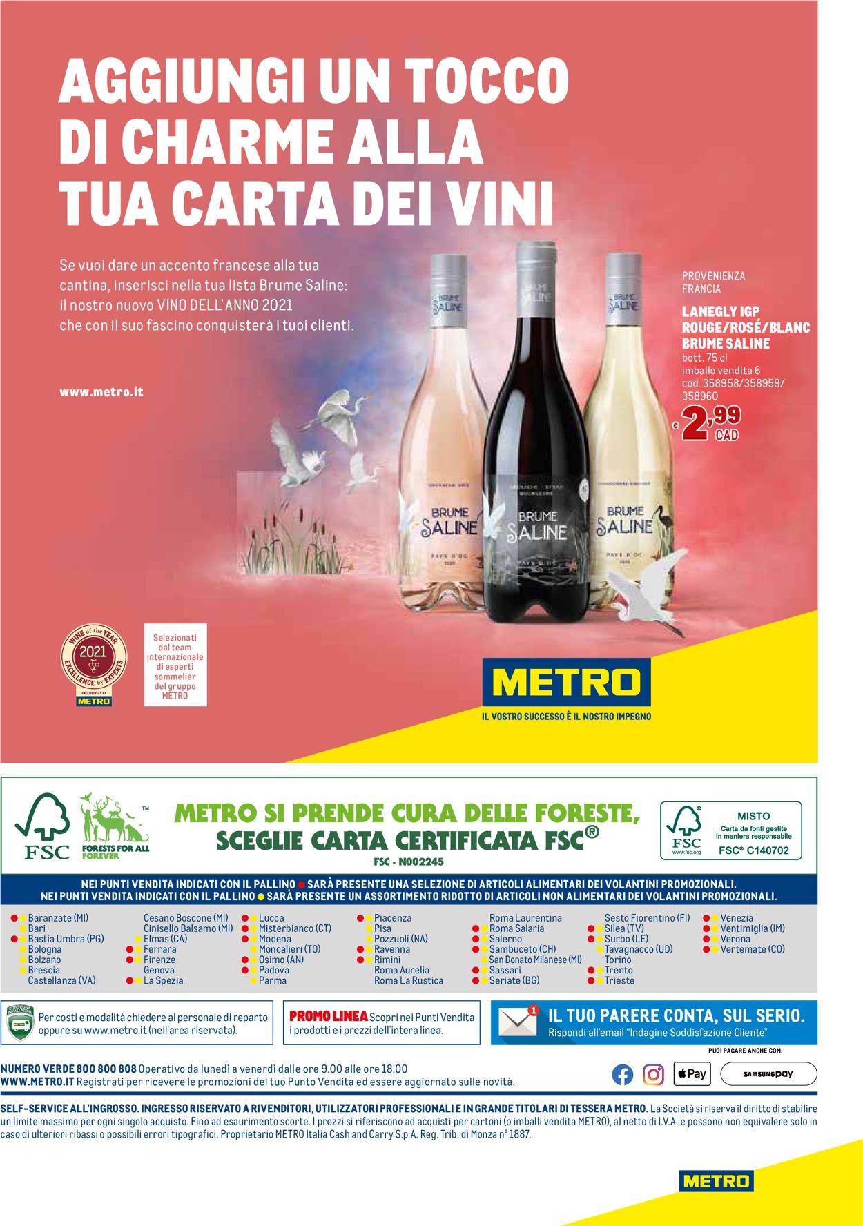 Volantino Metro - Offerte 11/03-07/04/2021 (Pagina 48)