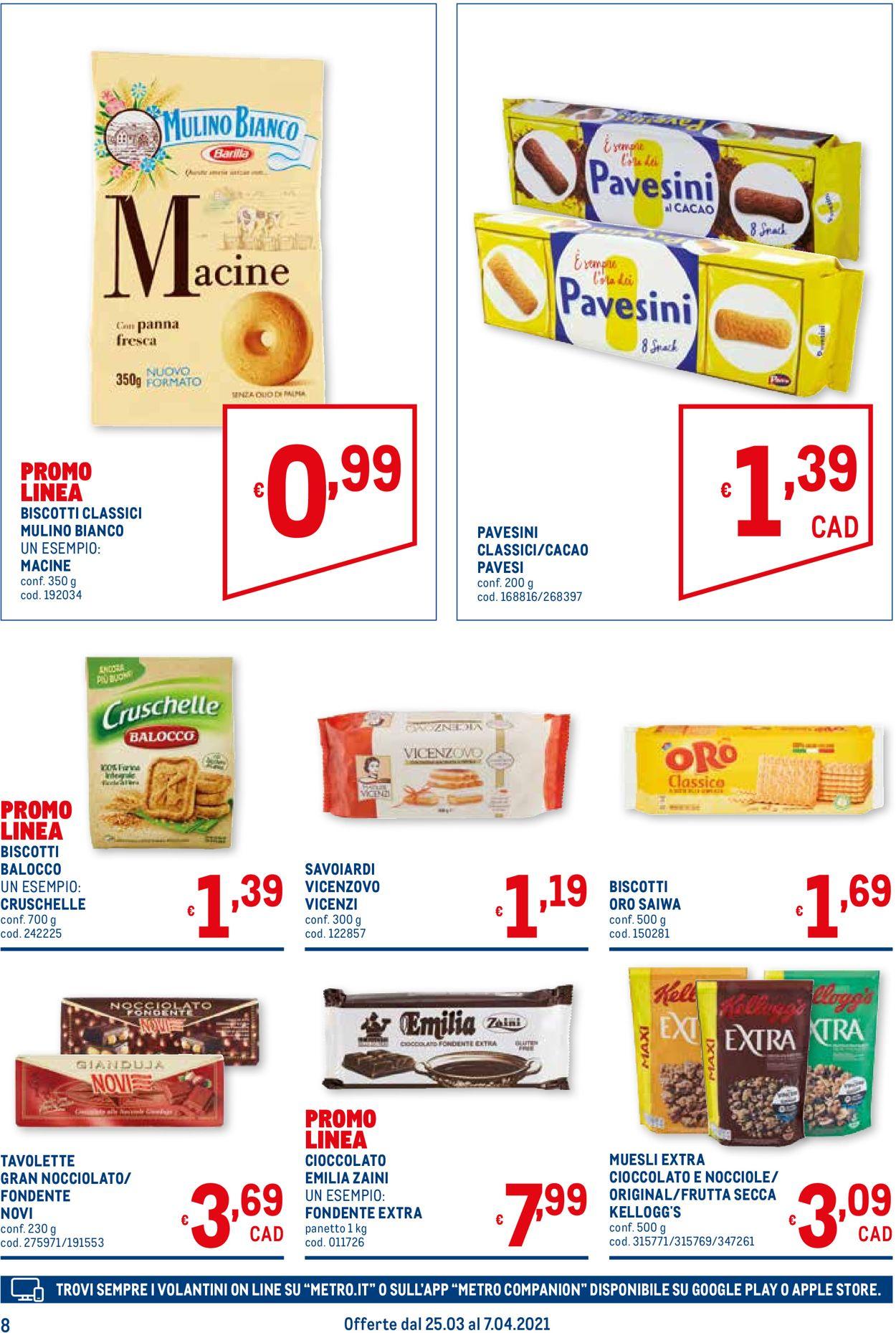 Volantino Metro - Offerte 25/03-07/04/2021 (Pagina 8)