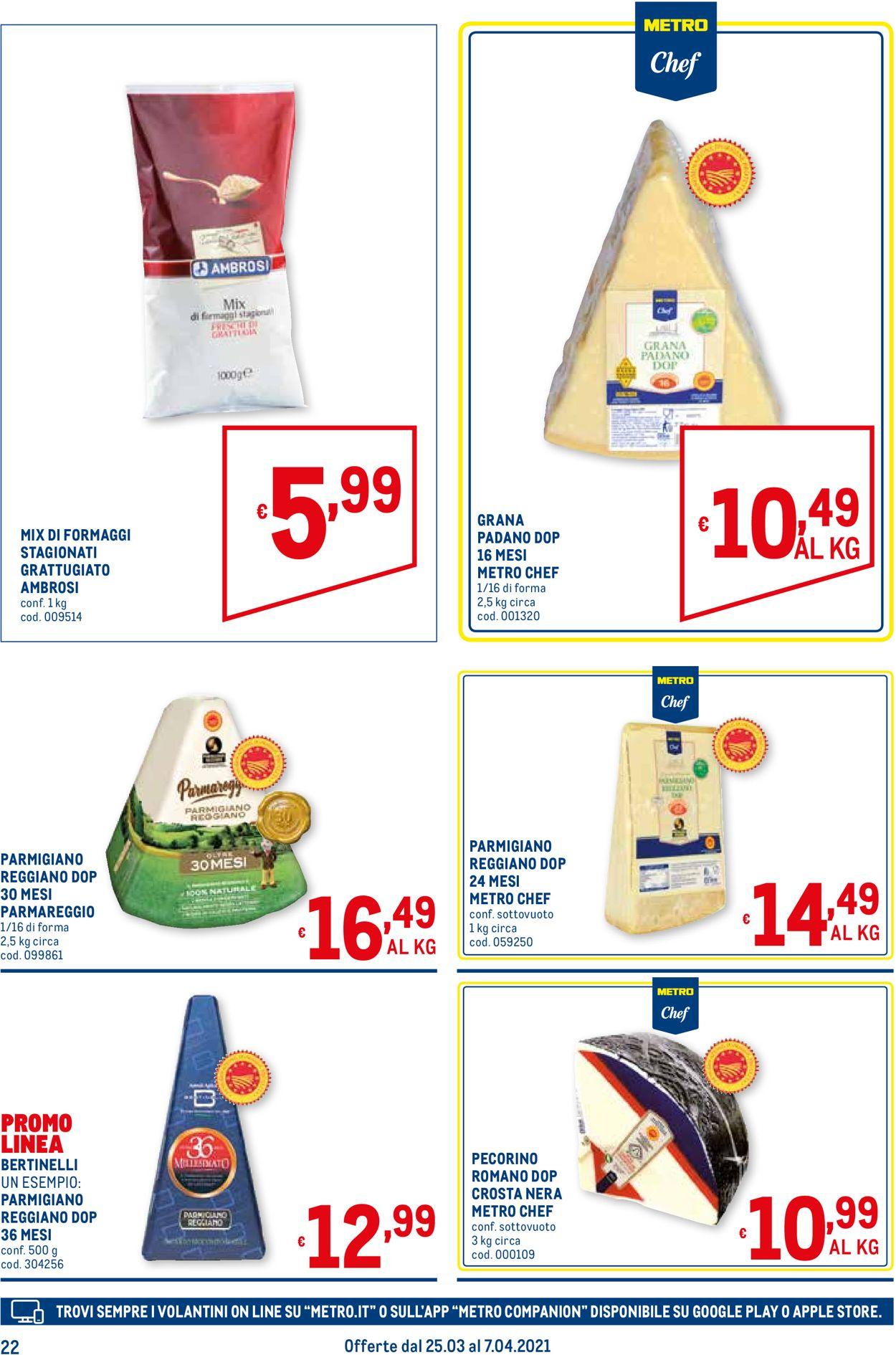 Volantino Metro - Offerte 25/03-07/04/2021 (Pagina 22)