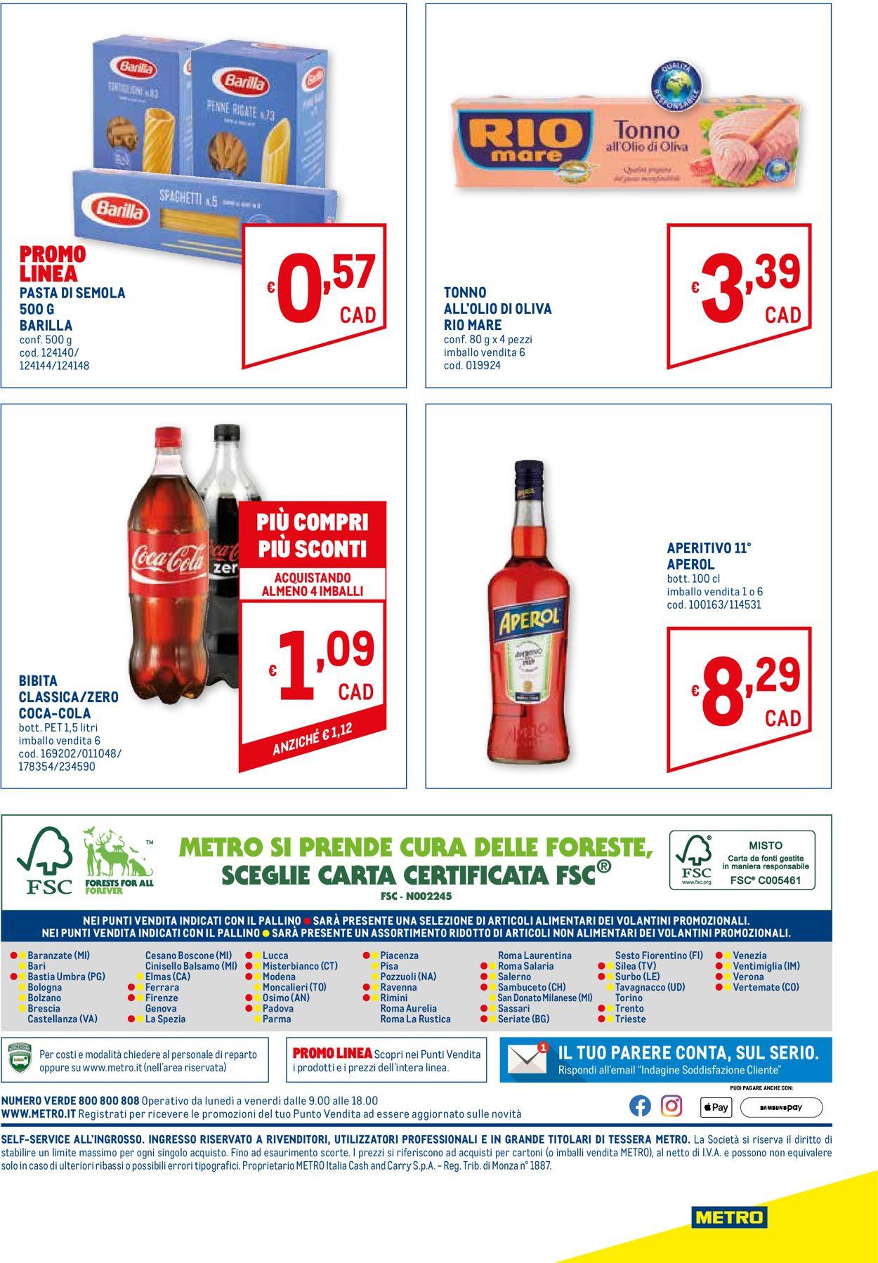 Volantino Metro - Offerte 25/03-07/04/2021 (Pagina 32)