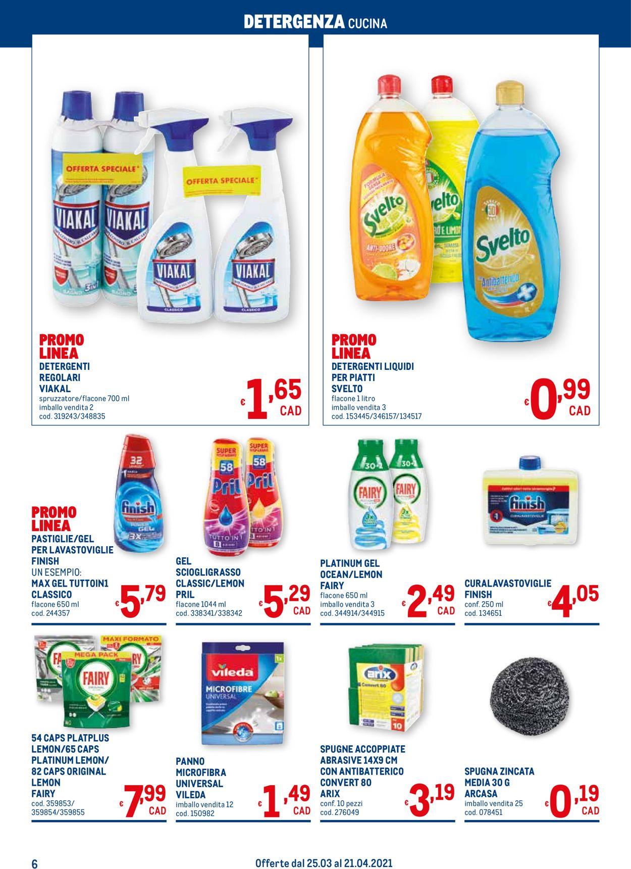 Volantino Metro - Offerte 25/03-21/04/2021 (Pagina 6)