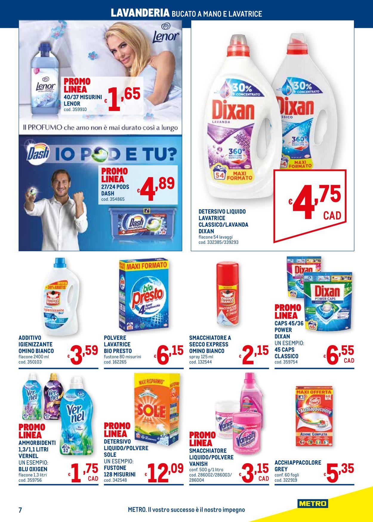 Volantino Metro - Offerte 25/03-21/04/2021 (Pagina 7)