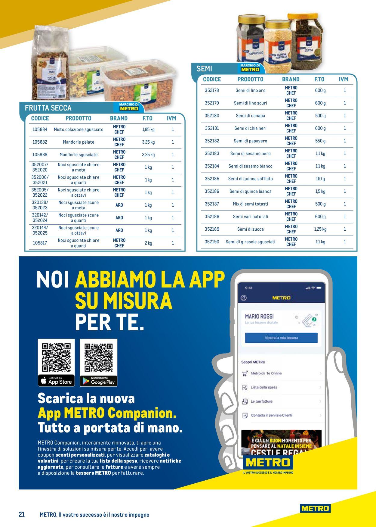 Volantino Metro - Offerte 25/03-24/03/2022 (Pagina 21)