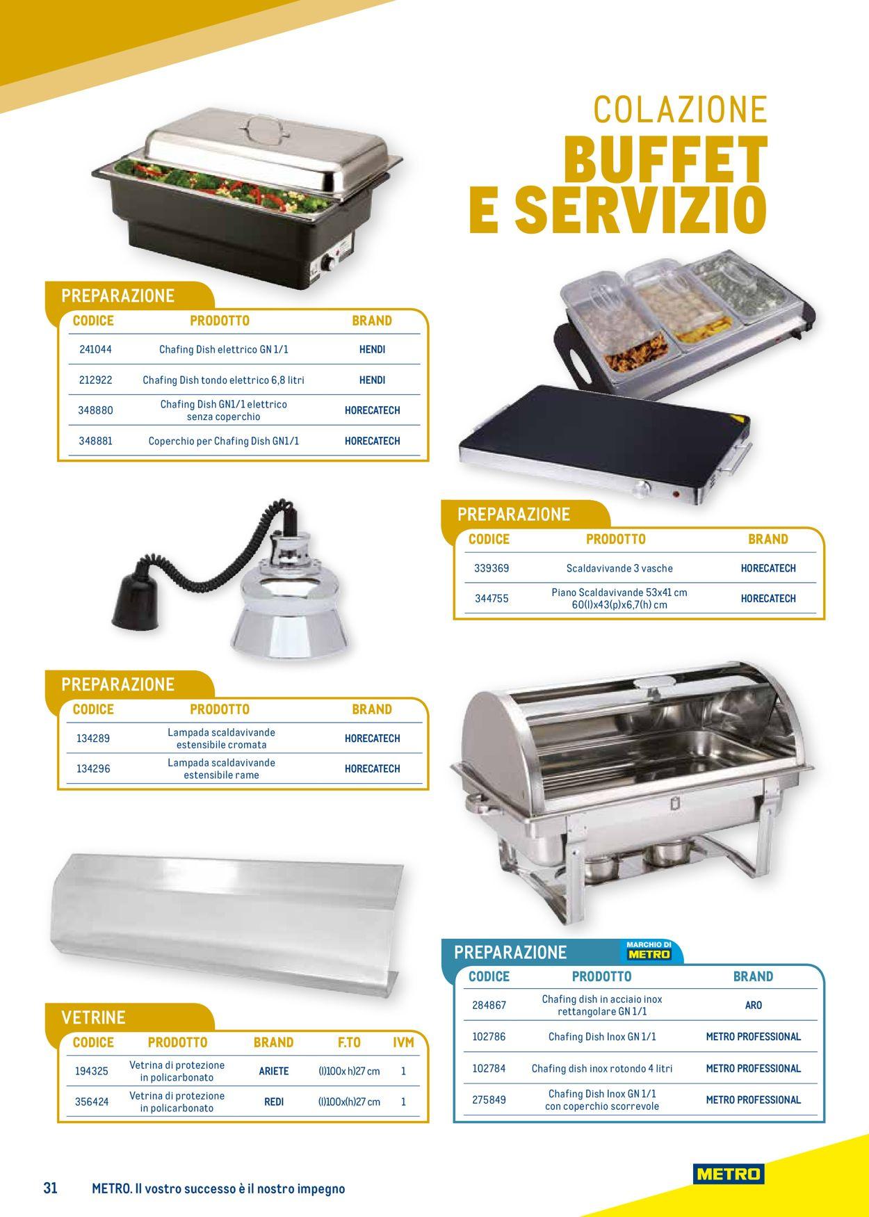 Volantino Metro - Offerte 25/03-24/03/2022 (Pagina 31)